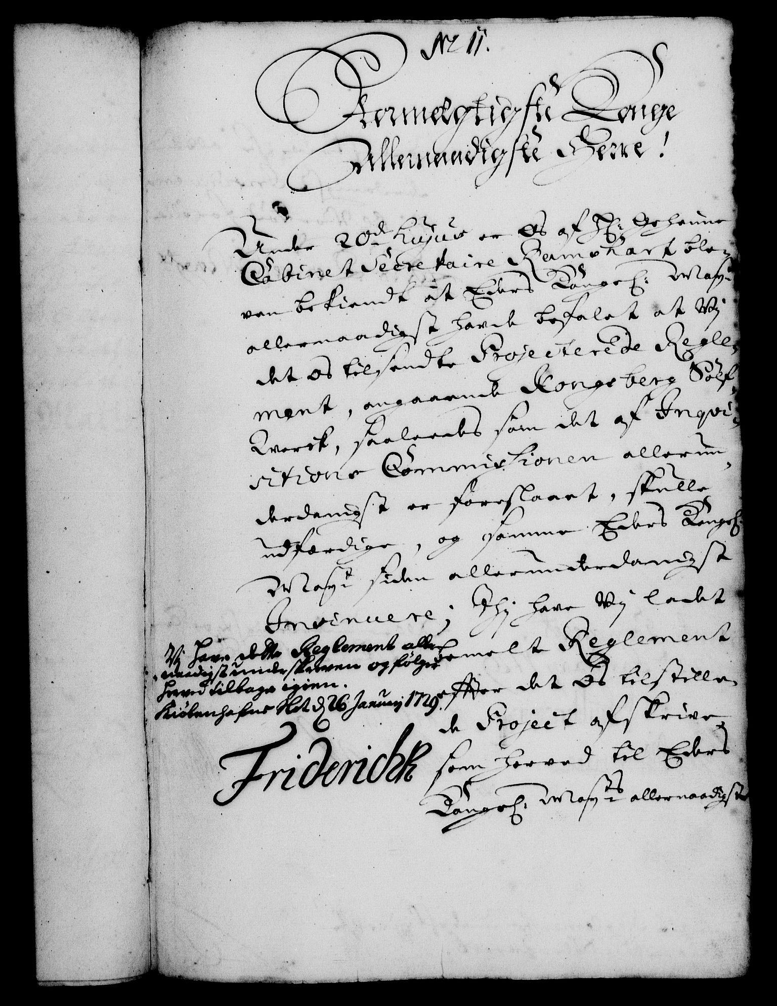 RA, Rentekammeret, Kammerkanselliet, G/Gf/Gfa/L0012: Norsk relasjons- og resolusjonsprotokoll (merket RK 52.12), 1729, s. 86