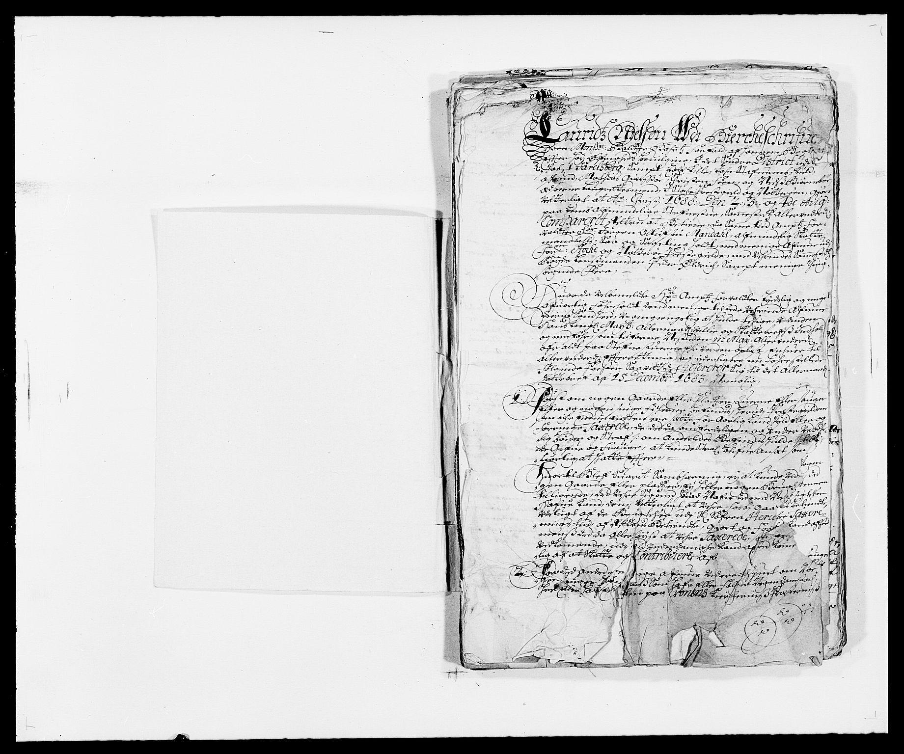 RA, Rentekammeret inntil 1814, Reviderte regnskaper, Fogderegnskap, R32/L1859: Fogderegnskap Jarlsberg grevskap, 1686-1690, s. 344