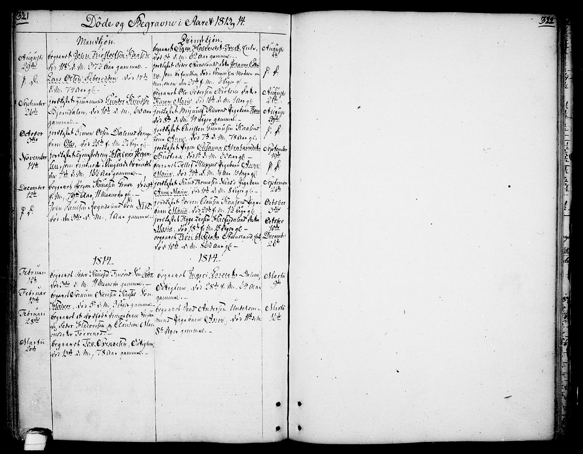 SAKO, Drangedal kirkebøker, F/Fa/L0003: Ministerialbok nr. 3, 1768-1814, s. 321-322