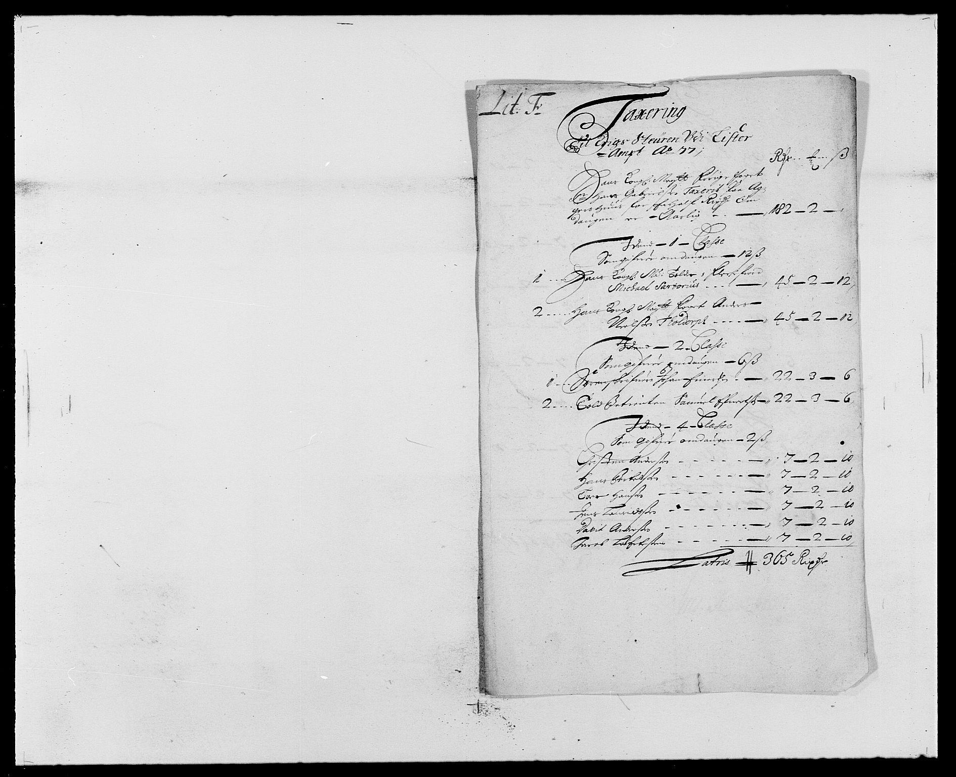 RA, Rentekammeret inntil 1814, Reviderte regnskaper, Fogderegnskap, R41/L2530: Fogderegnskap Lista, 1677-1679, s. 128
