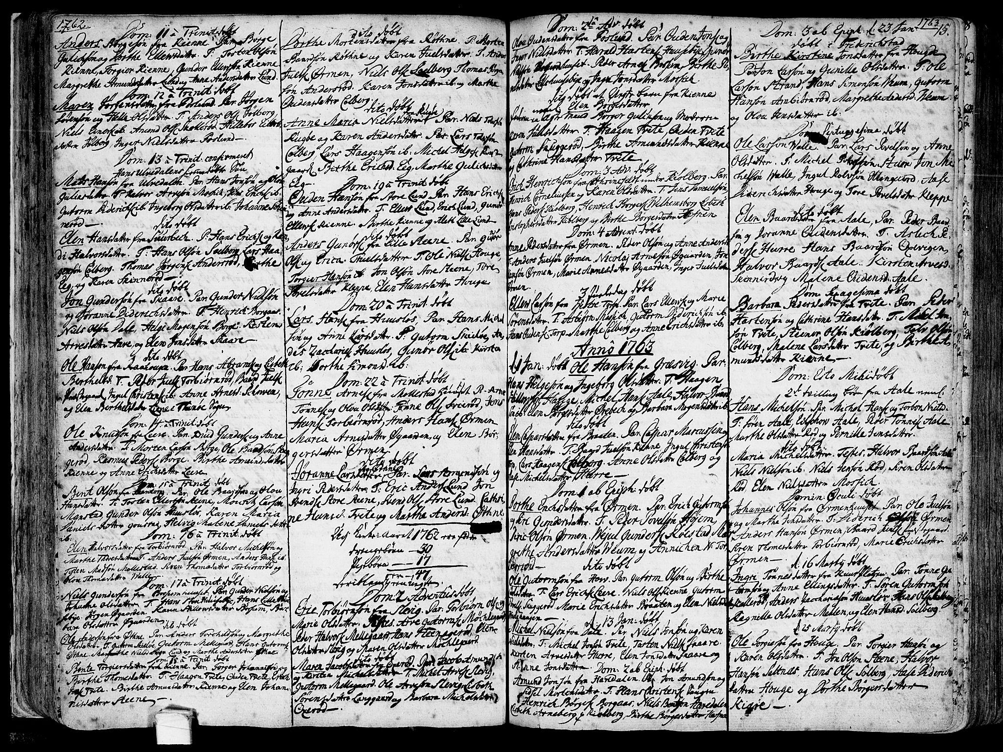 SAO, Onsøy prestekontor Kirkebøker, F/Fa/L0001: Ministerialbok nr. I 1, 1733-1814, s. 75