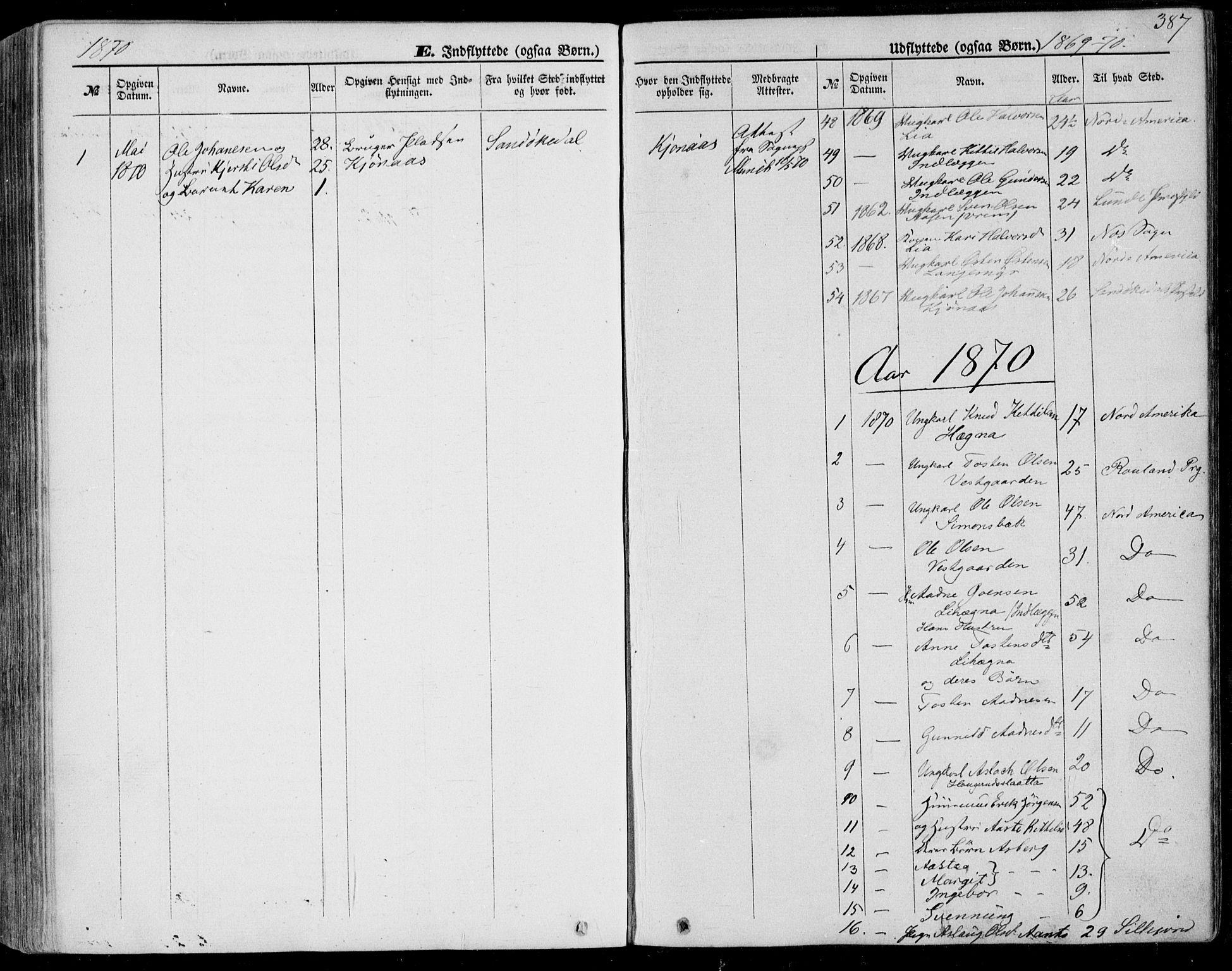 SAKO, Bø kirkebøker, F/Fa/L0009: Ministerialbok nr. 9, 1862-1879, s. 387