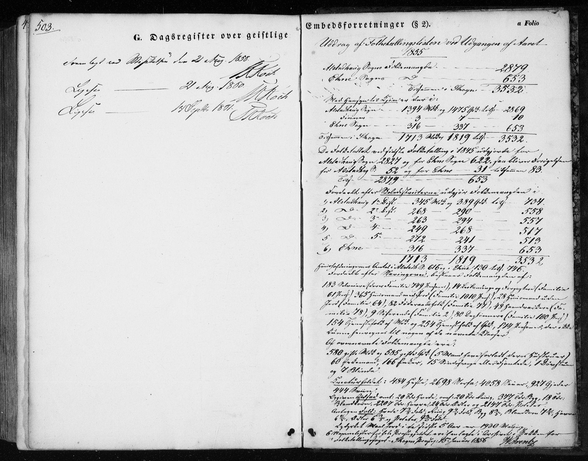 SAT, Ministerialprotokoller, klokkerbøker og fødselsregistre - Nord-Trøndelag, 717/L0154: Ministerialbok nr. 717A07 /1, 1850-1862, s. 503