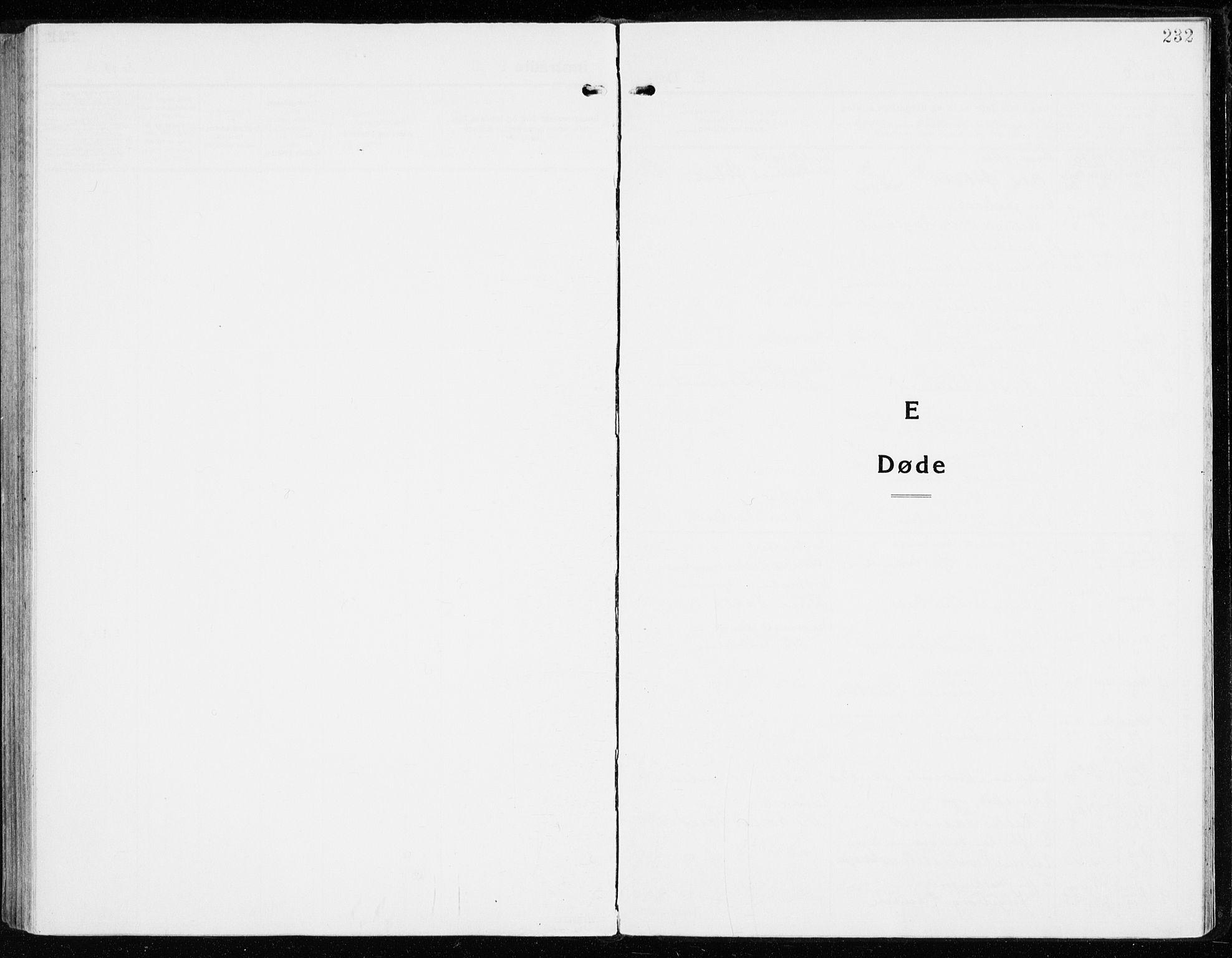 SAH, Vardal prestekontor, H/Ha/Haa/L0018: Ministerialbok nr. 18, 1930-1945, s. 232