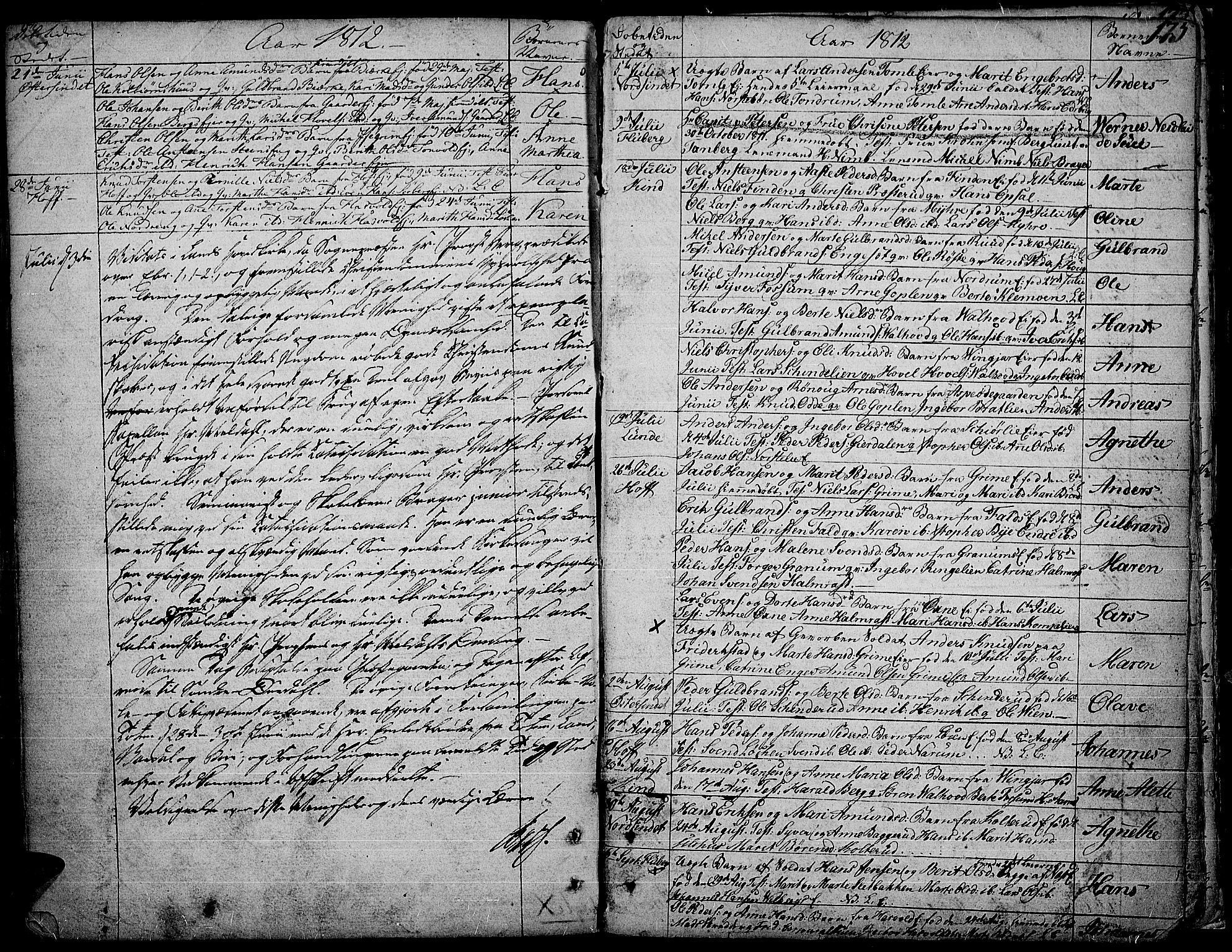SAH, Land prestekontor, Ministerialbok nr. 6, 1784-1813, s. 175