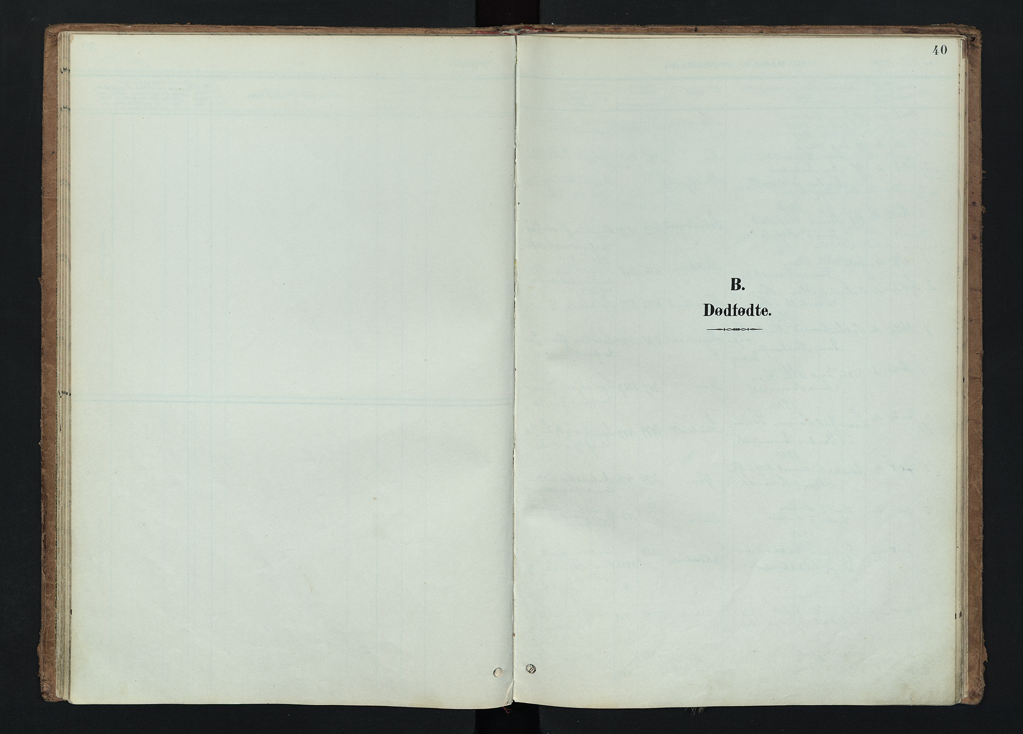 SAH, Nord-Aurdal prestekontor, Ministerialbok nr. 15, 1896-1914, s. 40