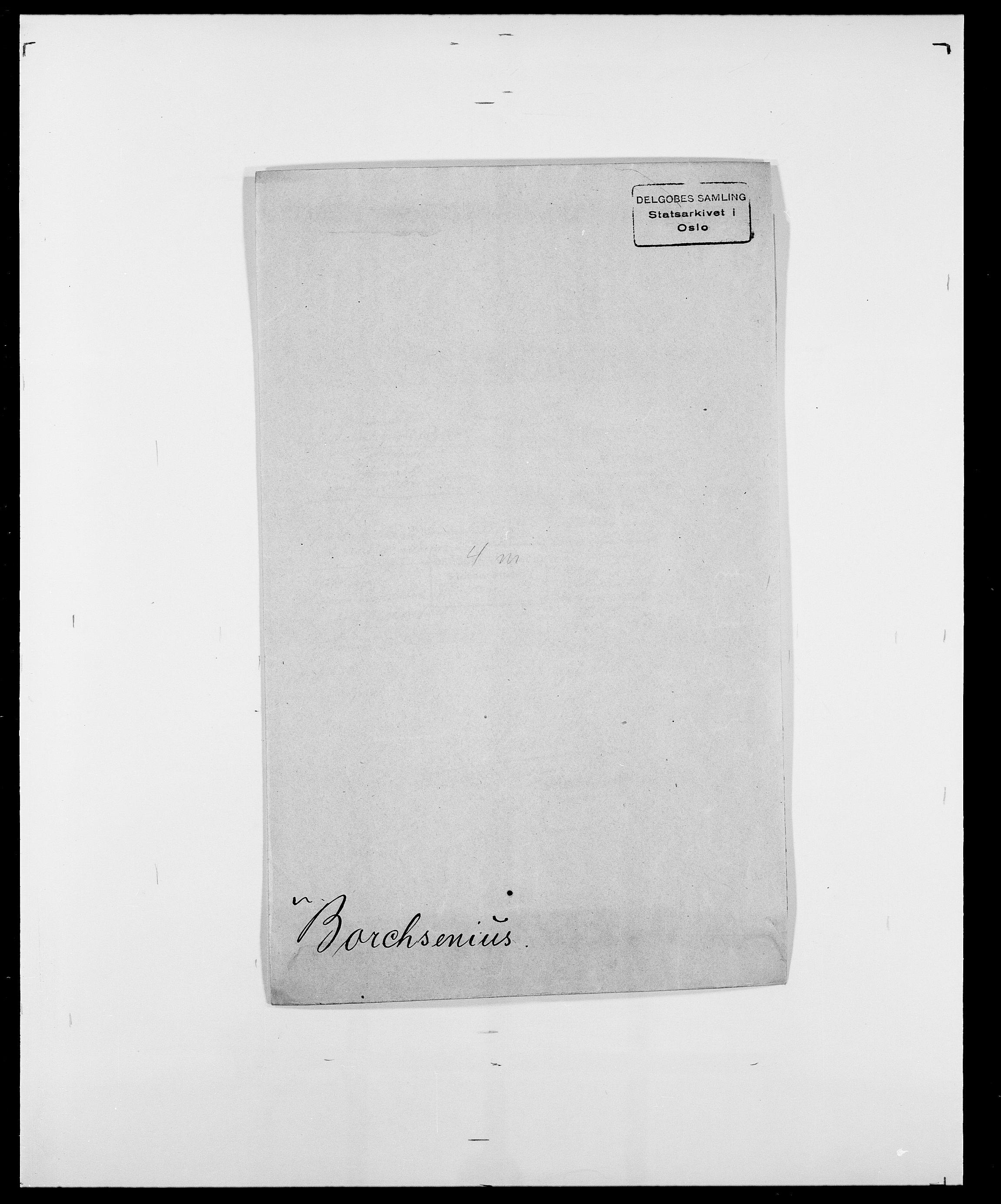 SAO, Delgobe, Charles Antoine - samling, D/Da/L0005: Boalth - Brahm, s. 245
