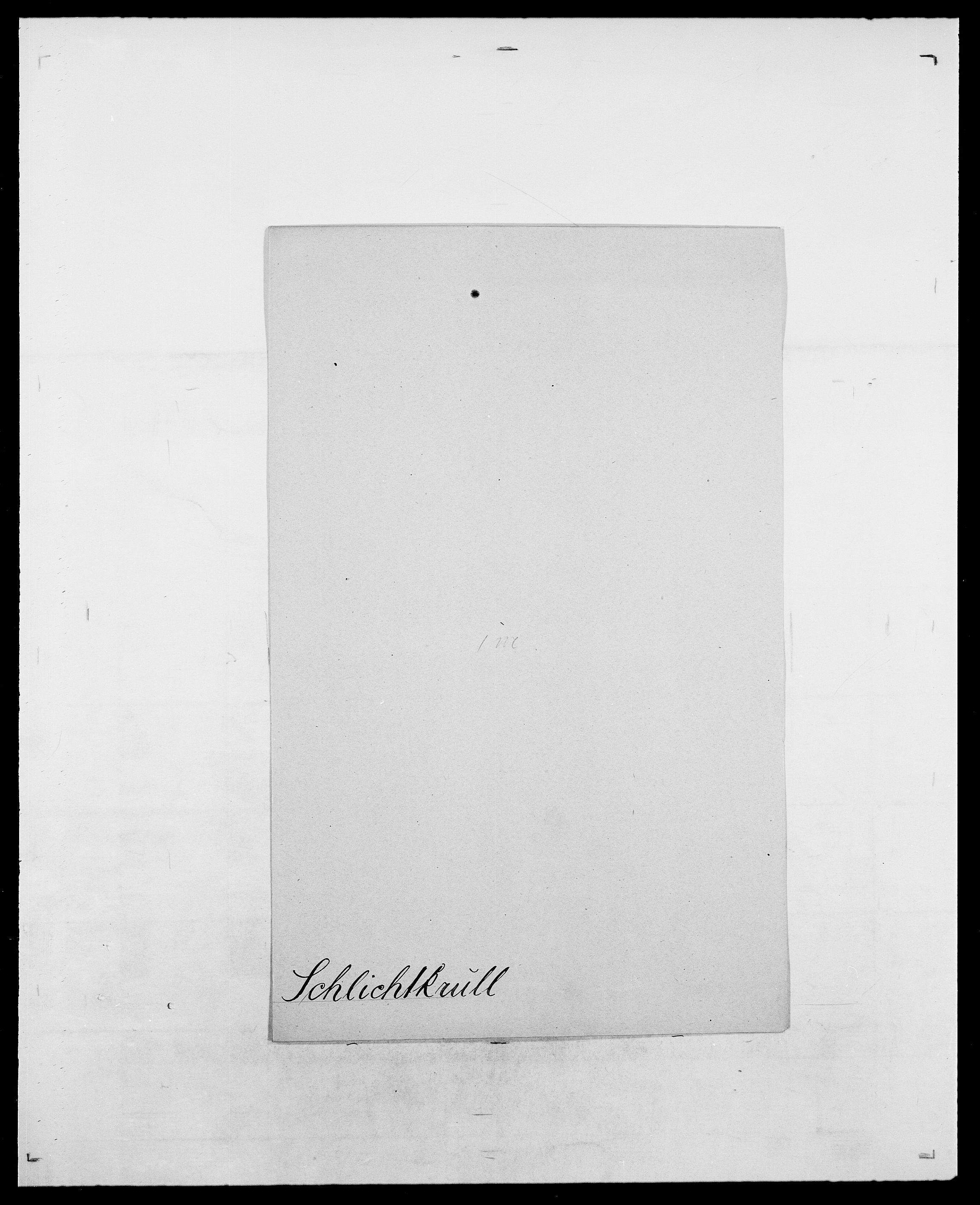 SAO, Delgobe, Charles Antoine - samling, D/Da/L0034: Saabye - Schmincke, s. 818