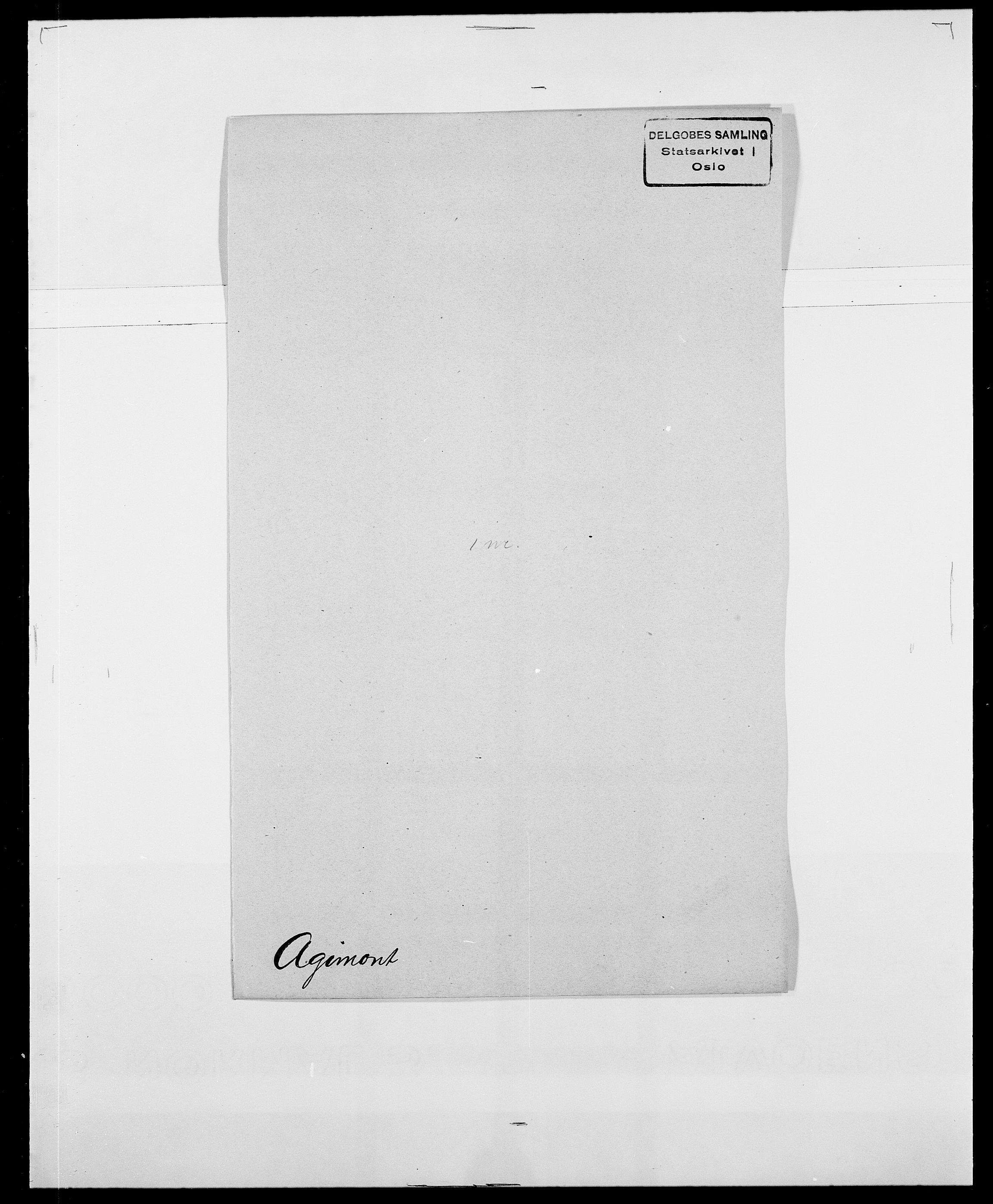 SAO, Delgobe, Charles Antoine - samling, D/Da/L0001: Aabye - Angerman, s. 310