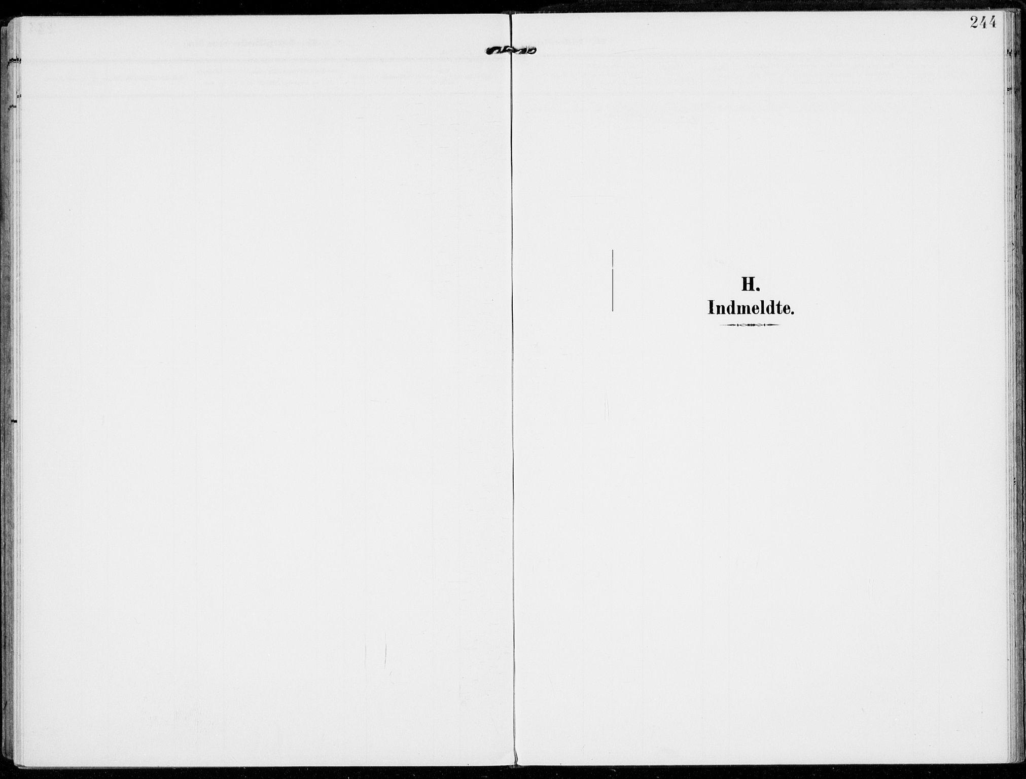 SAH, Alvdal prestekontor, Ministerialbok nr. 4, 1907-1919, s. 244