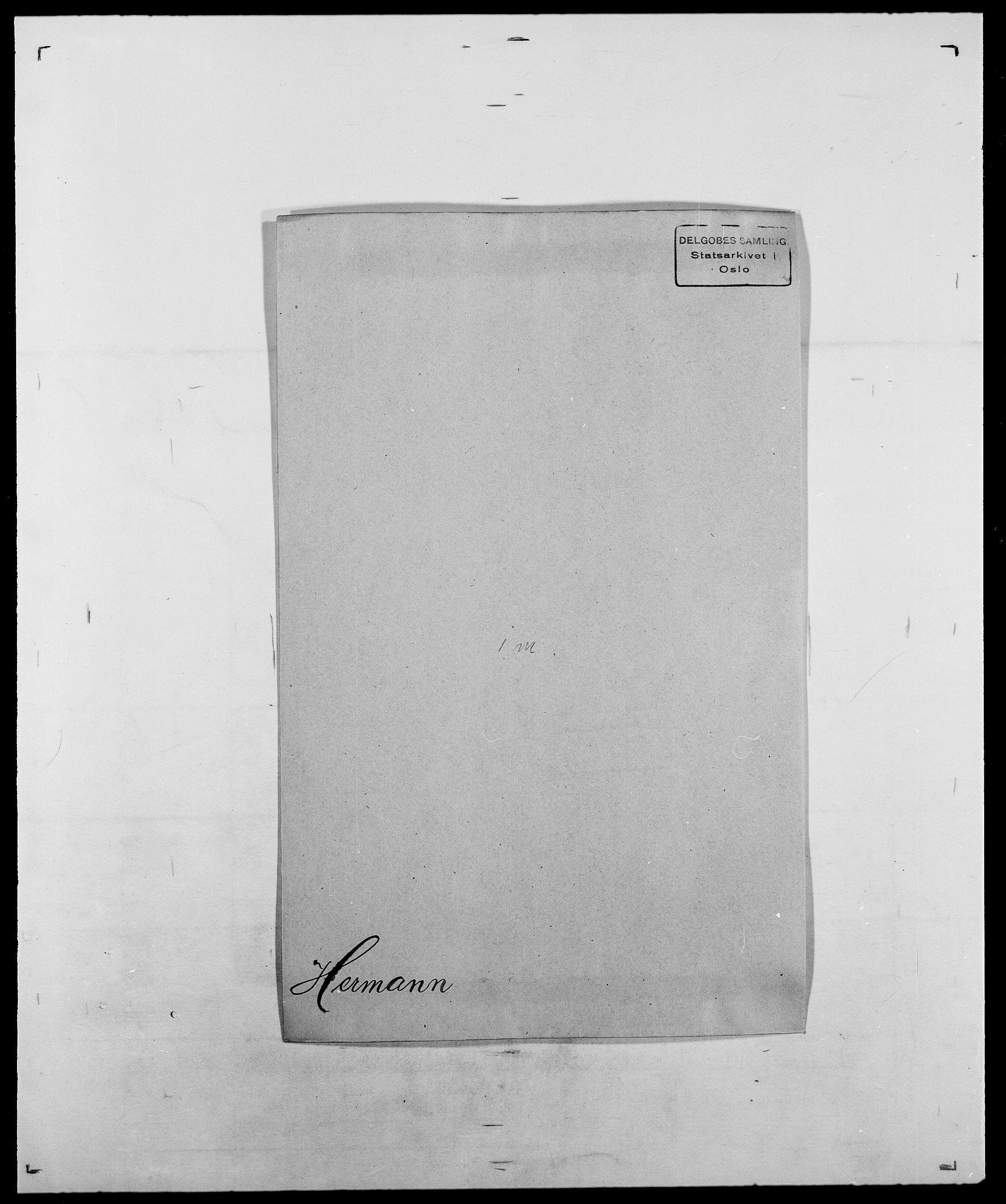 SAO, Delgobe, Charles Antoine - samling, D/Da/L0017: Helander - Hjørne, s. 250