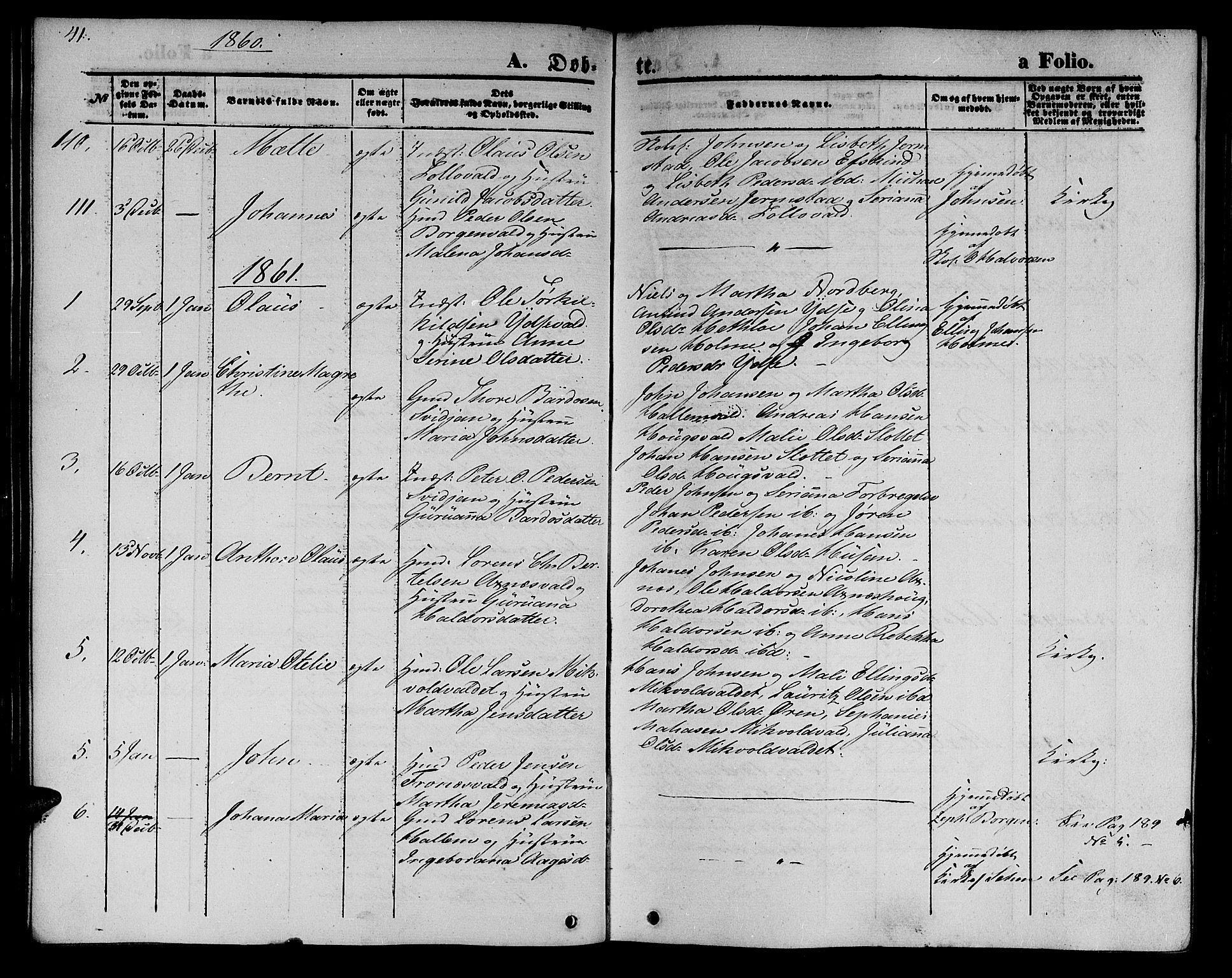 SAT, Ministerialprotokoller, klokkerbøker og fødselsregistre - Nord-Trøndelag, 723/L0254: Klokkerbok nr. 723C02, 1858-1868, s. 41