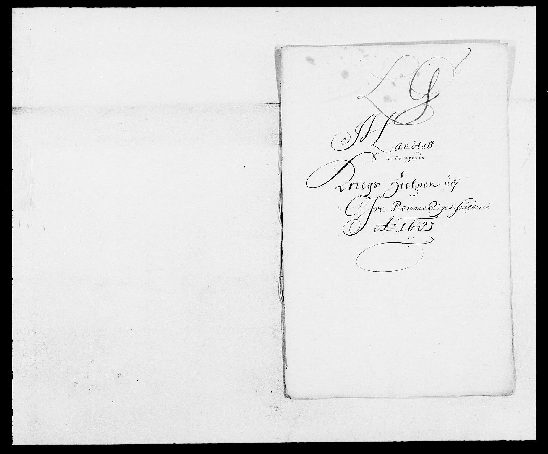 RA, Rentekammeret inntil 1814, Reviderte regnskaper, Fogderegnskap, R12/L0697: Fogderegnskap Øvre Romerike, 1682-1683, s. 348