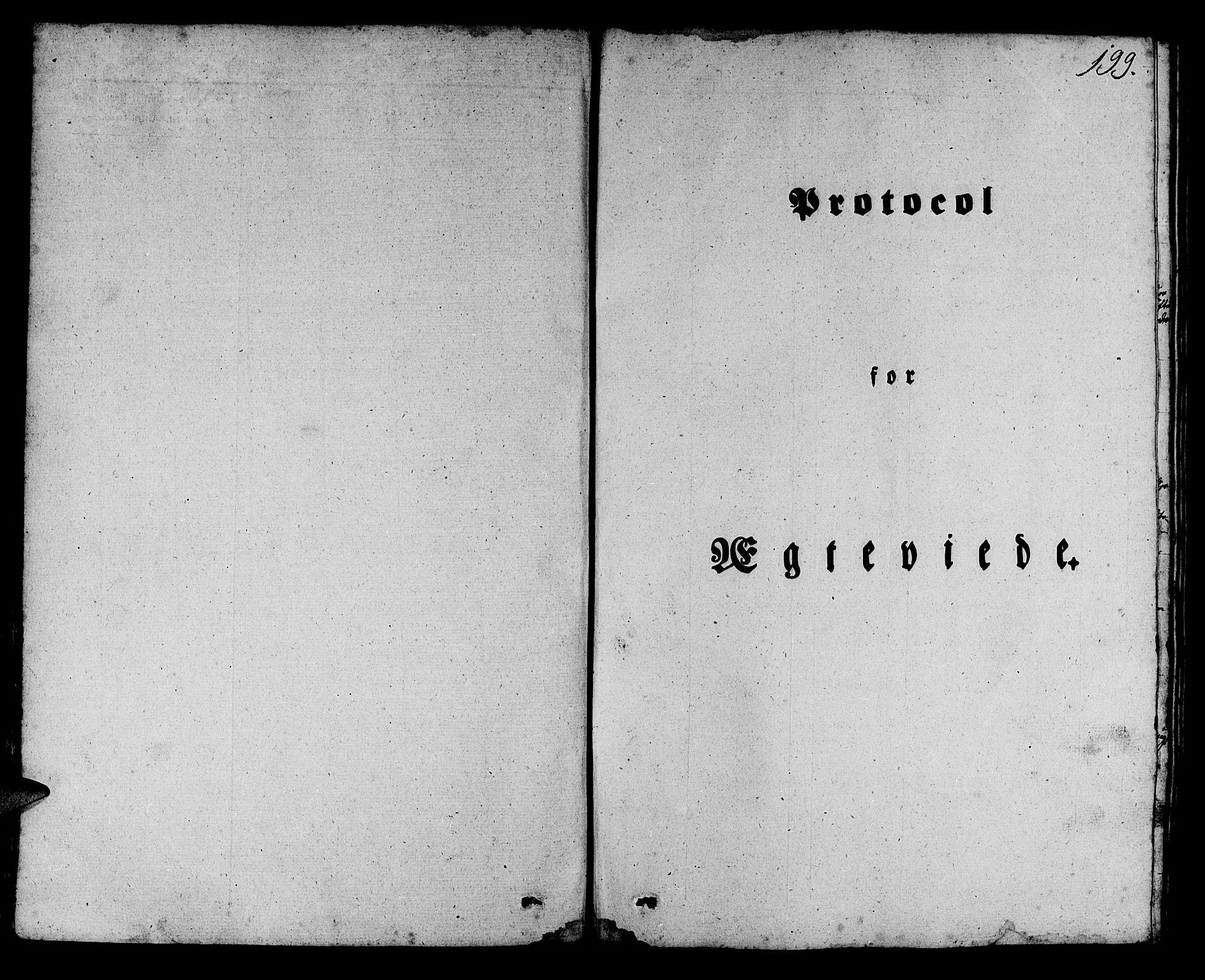 SAB, Manger sokneprestembete, H/Haa: Ministerialbok nr. A 5, 1839-1848, s. 199