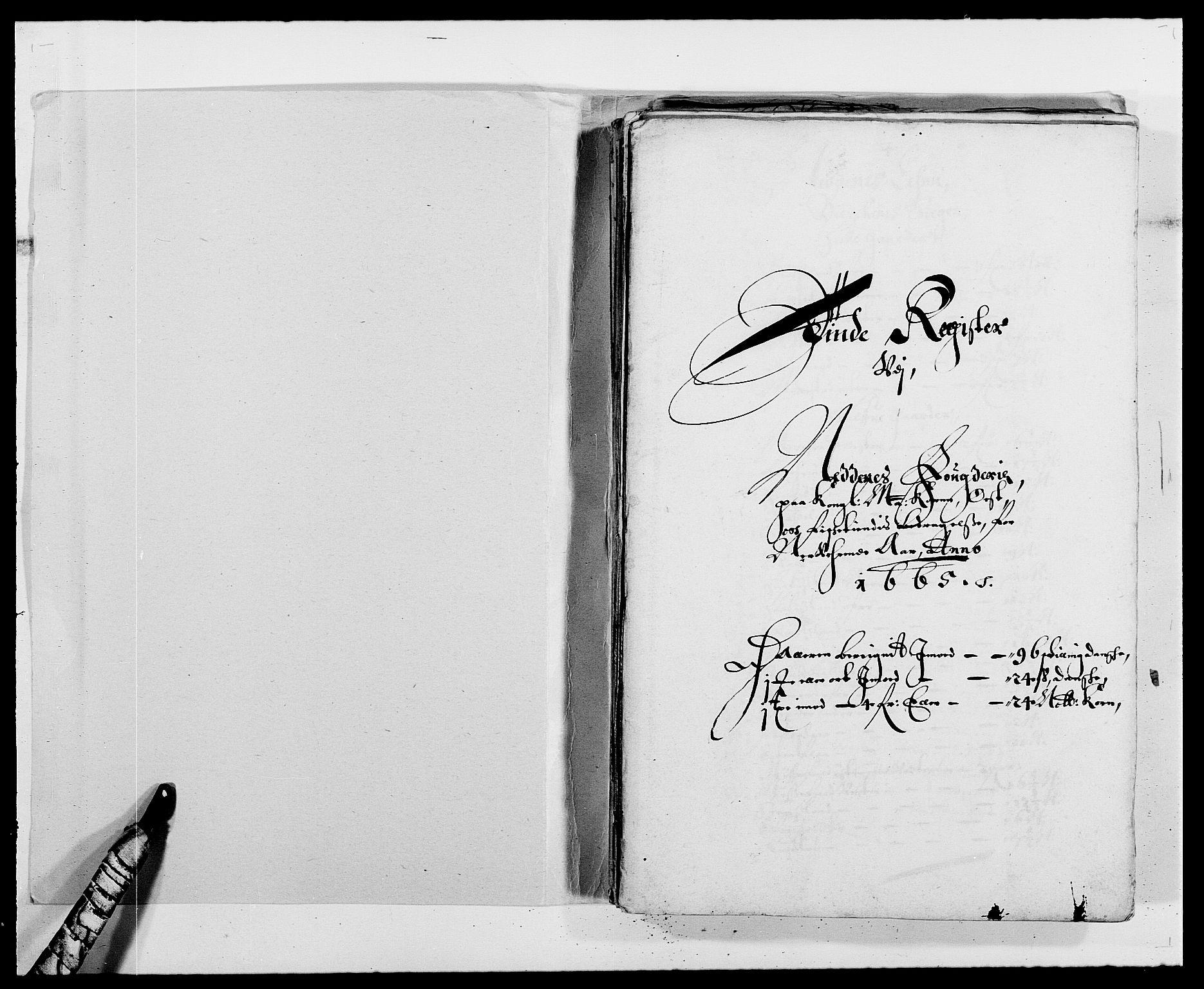 RA, Rentekammeret inntil 1814, Reviderte regnskaper, Fogderegnskap, R39/L2296: Fogderegnskap Nedenes, 1664-1666, s. 327