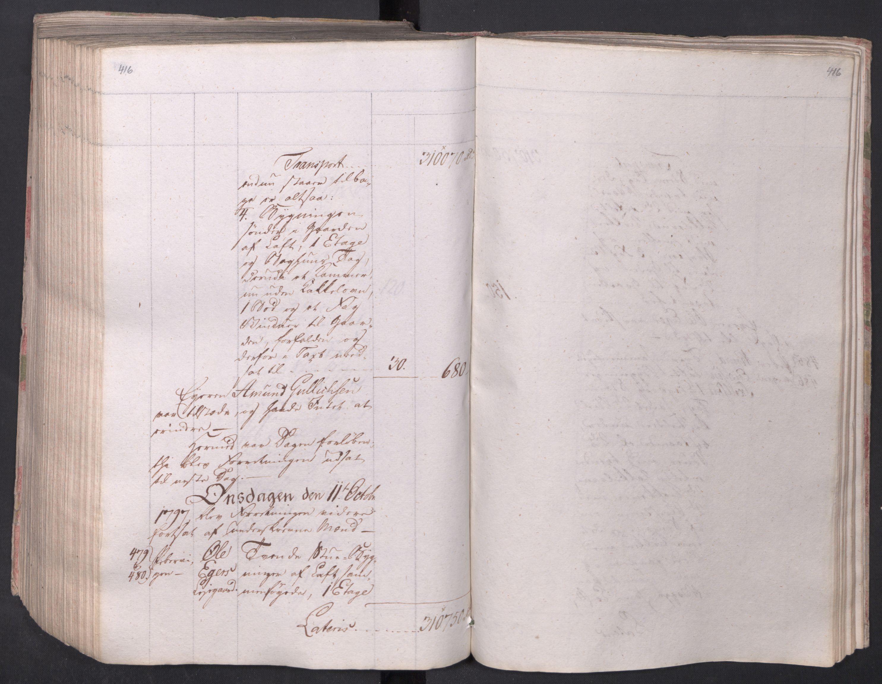 SAO, Kristiania stiftamt, I/Ia/L0015: Branntakster, 1797, s. 416