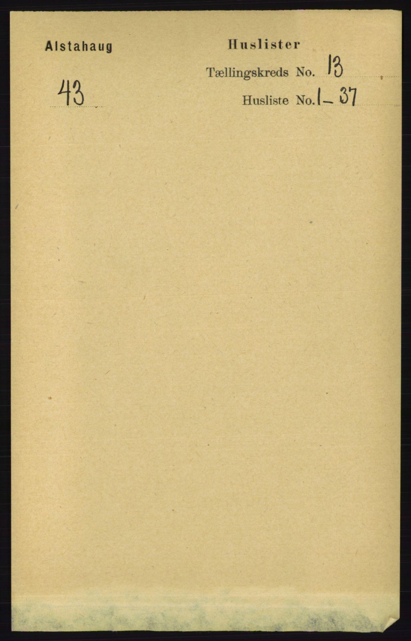RA, Folketelling 1891 for 1820 Alstahaug herred, 1891, s. 4617