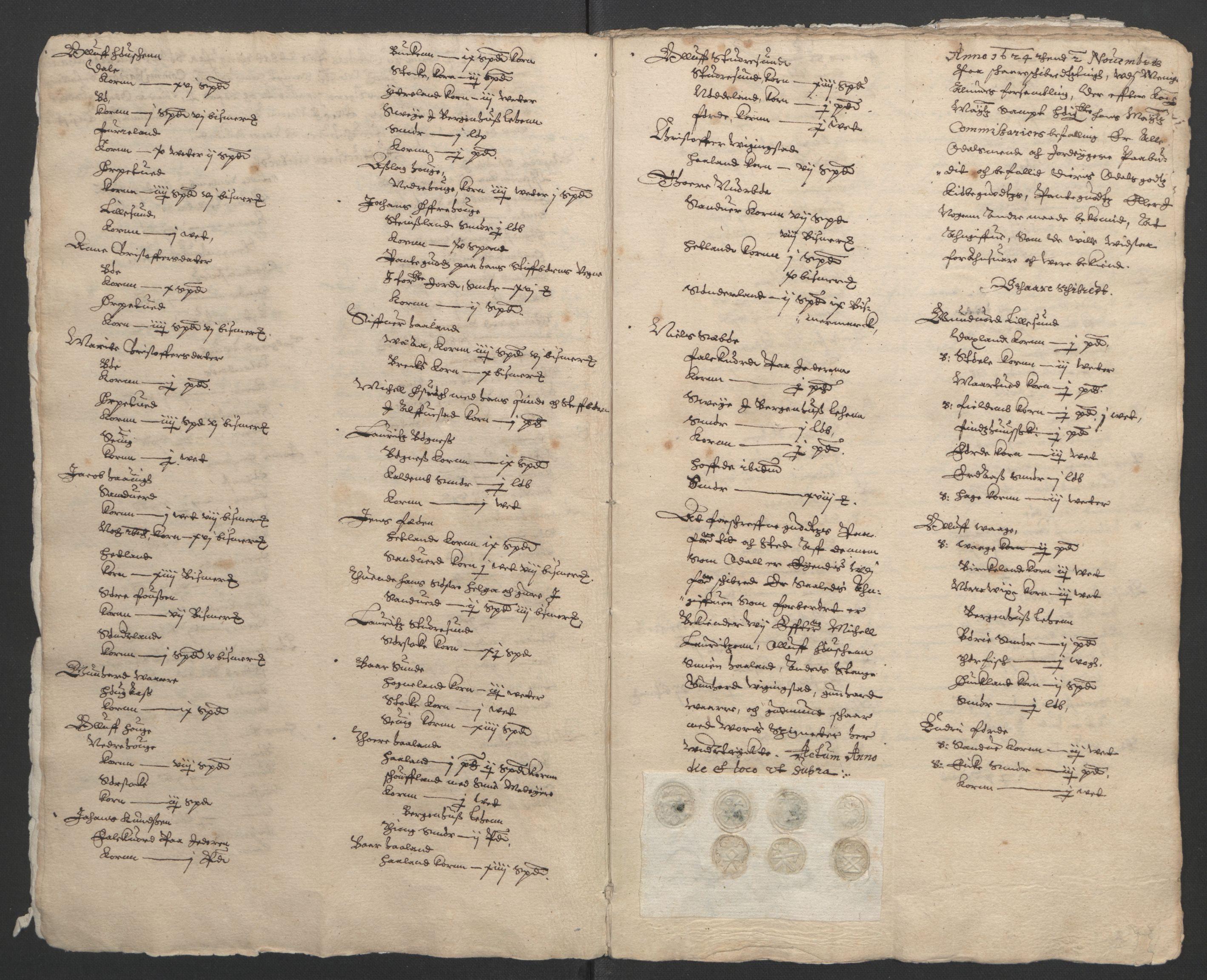 RA, Stattholderembetet 1572-1771, Ek/L0010: Jordebøker til utlikning av rosstjeneste 1624-1626:, 1624-1626, s. 7