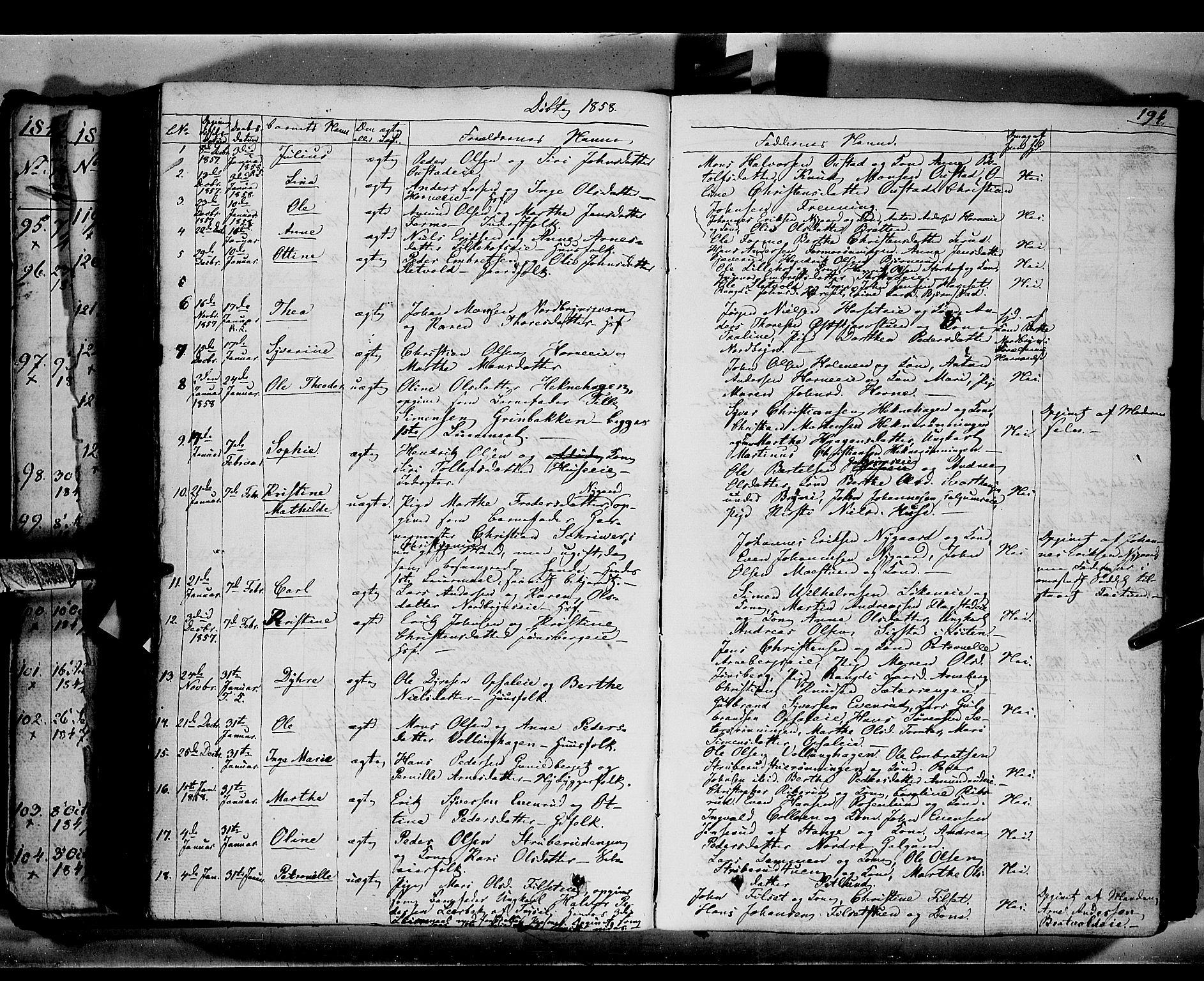 SAH, Romedal prestekontor, K/L0004: Ministerialbok nr. 4, 1847-1861, s. 194