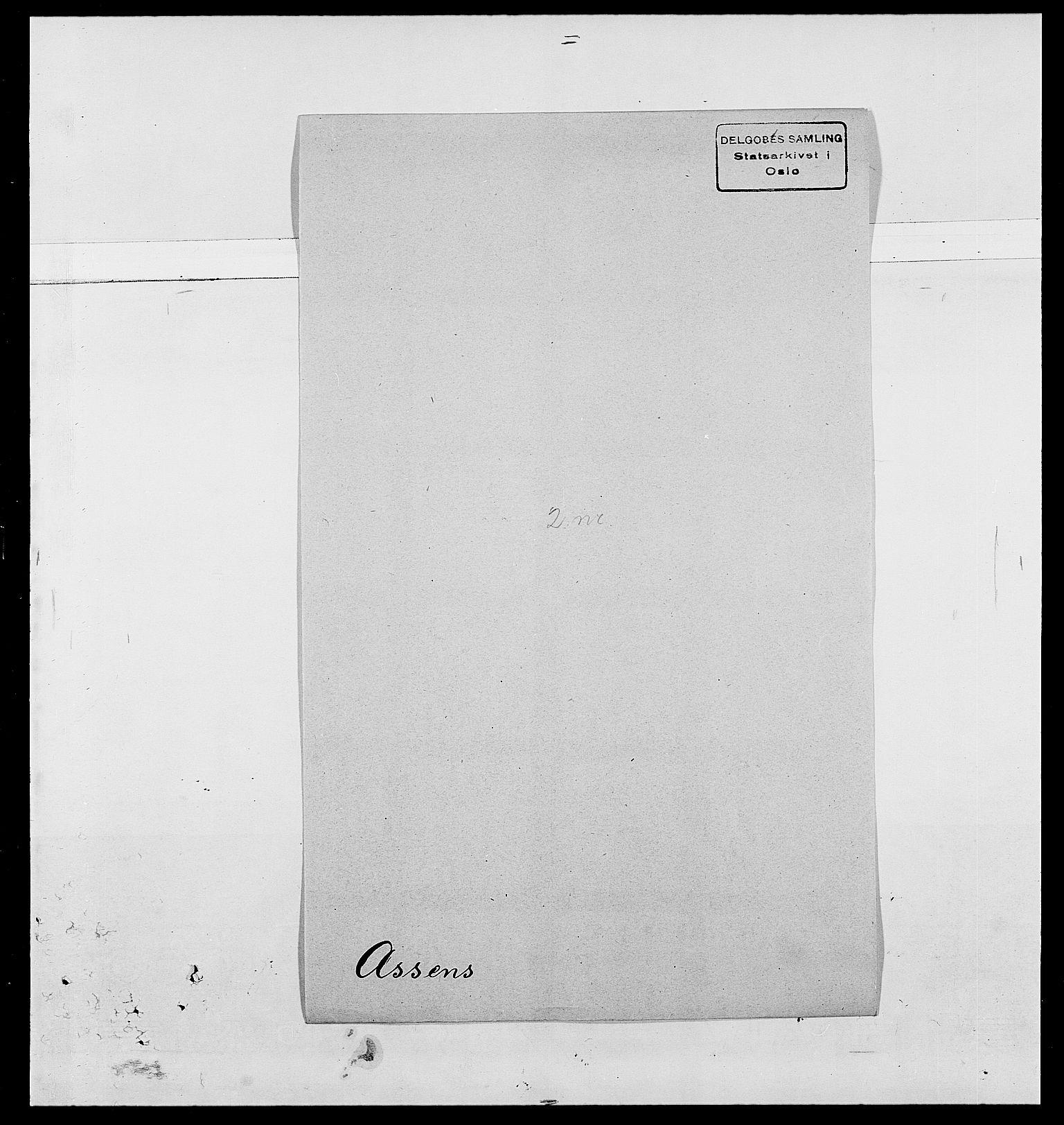 SAO, Delgobe, Charles Antoine - samling, D/Da/L0002: Anker, Ancher - Bauner, s. 463