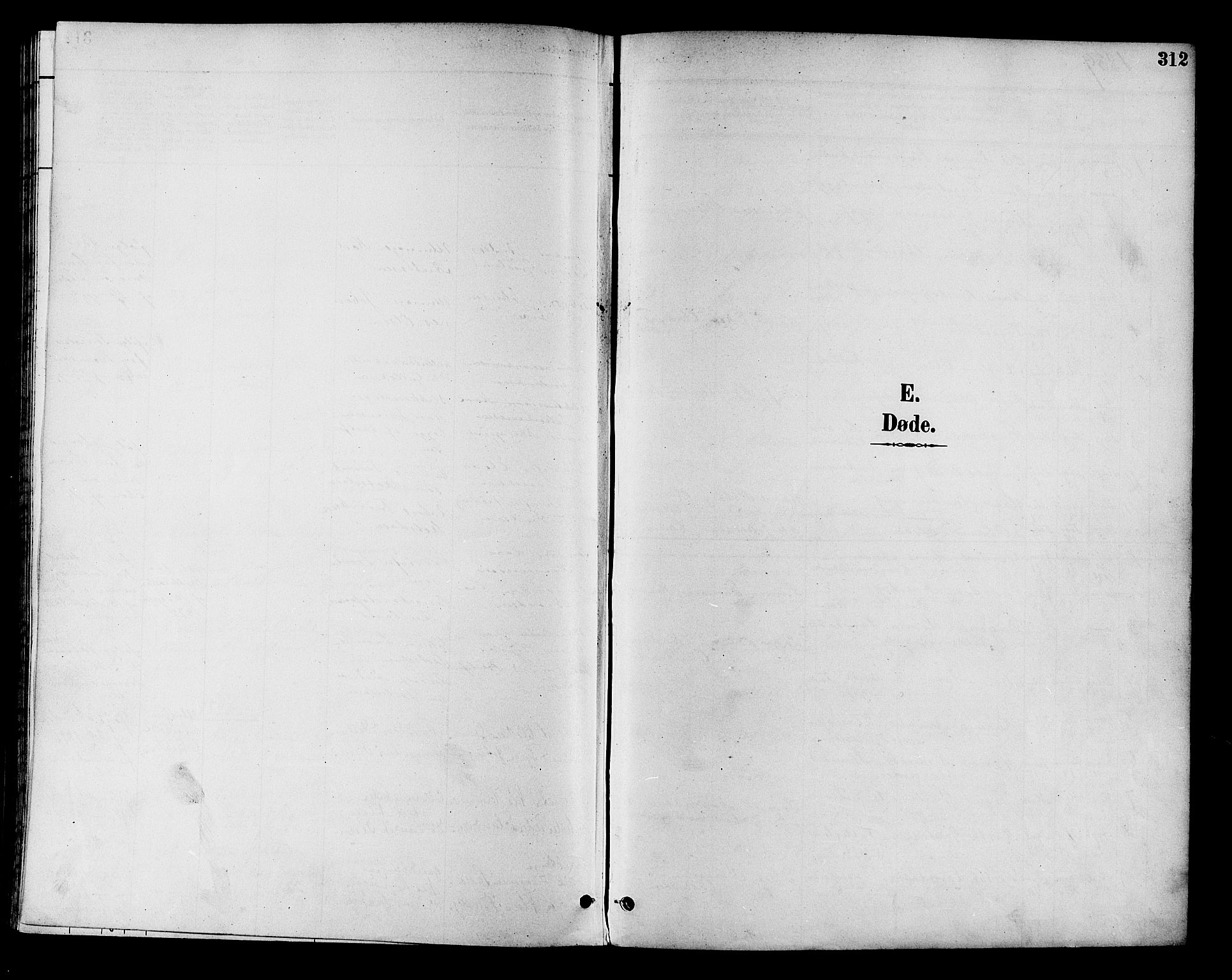 SAKO, Eiker kirkebøker, F/Fb/L0002: Ministerialbok nr. II 2, 1889-1896, s. 312