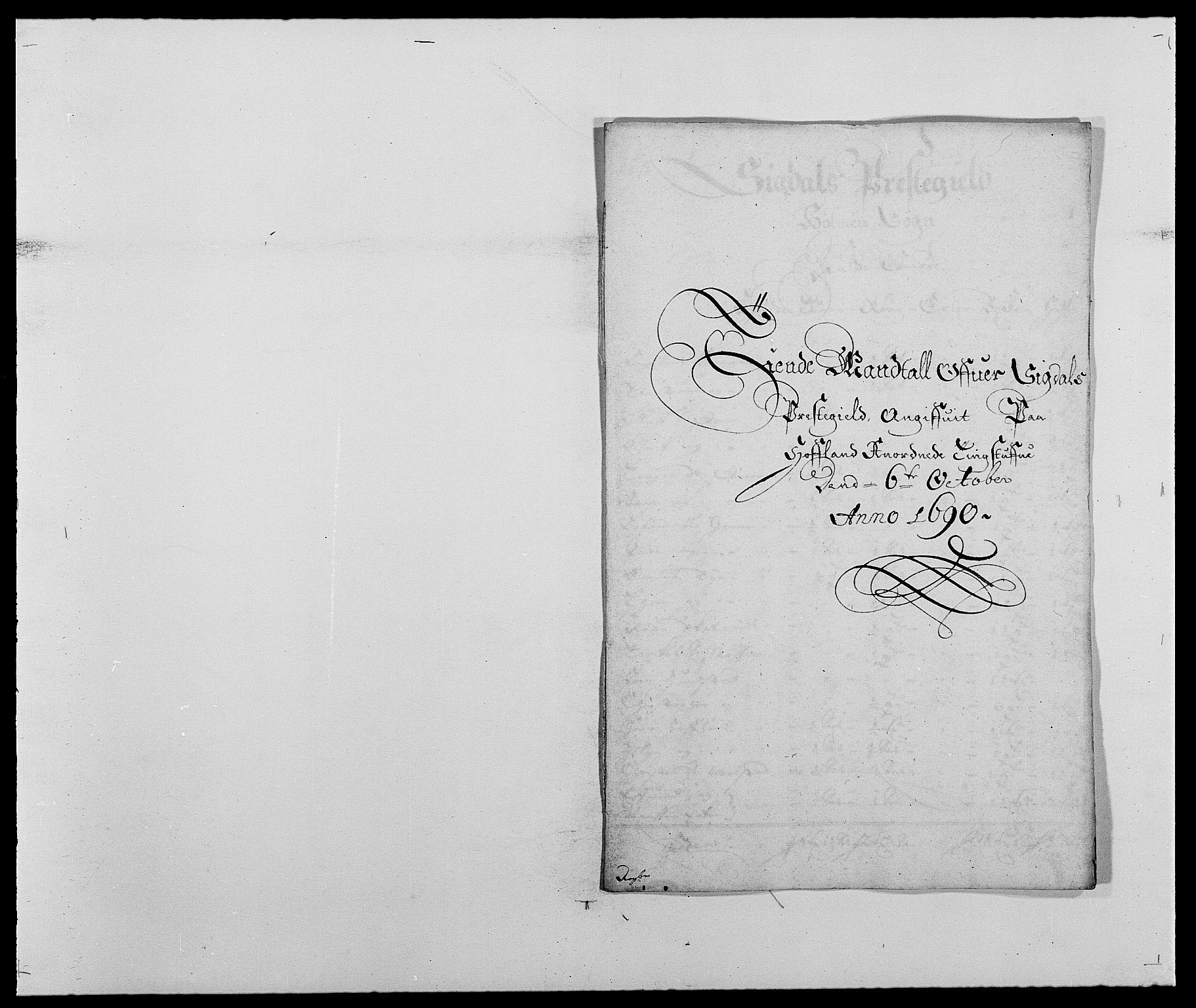 RA, Rentekammeret inntil 1814, Reviderte regnskaper, Fogderegnskap, R25/L1680: Fogderegnskap Buskerud, 1689-1690, s. 274
