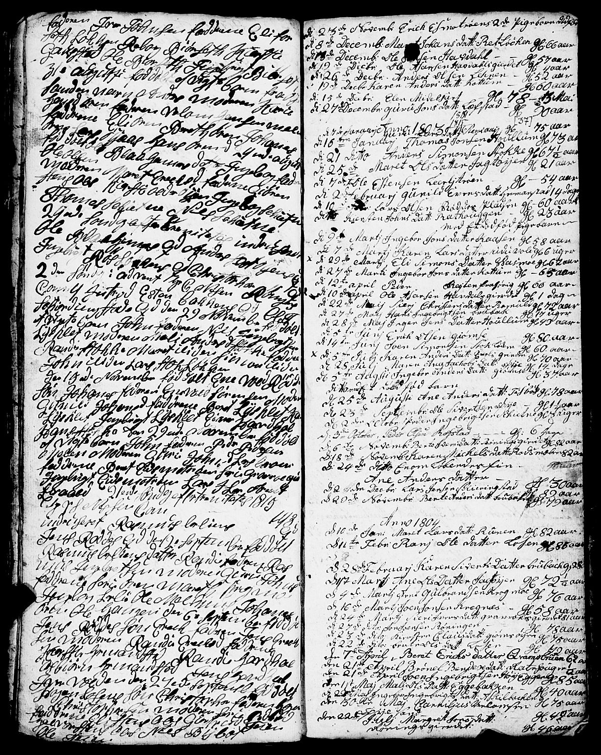 SAT, Ministerialprotokoller, klokkerbøker og fødselsregistre - Sør-Trøndelag, 691/L1091: Klokkerbok nr. 691C02, 1802-1815, s. 37