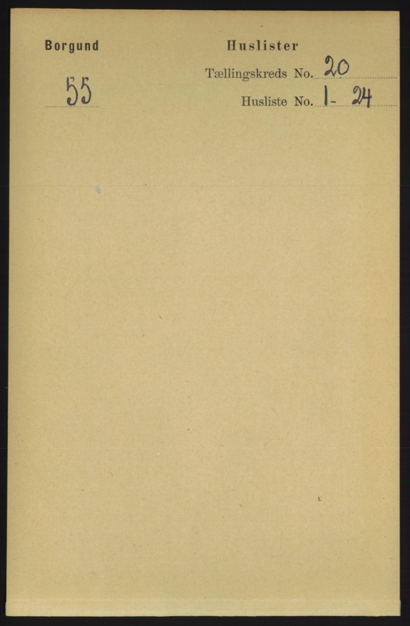 RA, Folketelling 1891 for 1531 Borgund herred, 1891, s. 6083