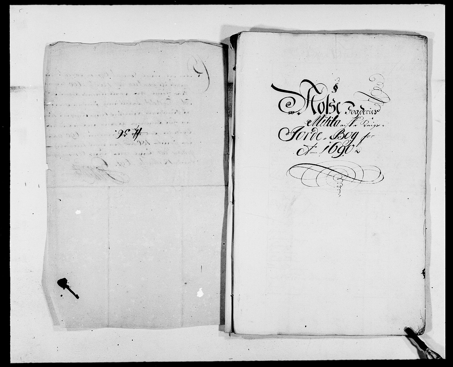 RA, Rentekammeret inntil 1814, Reviderte regnskaper, Fogderegnskap, R02/L0107: Fogderegnskap Moss og Verne kloster, 1685-1691, s. 267