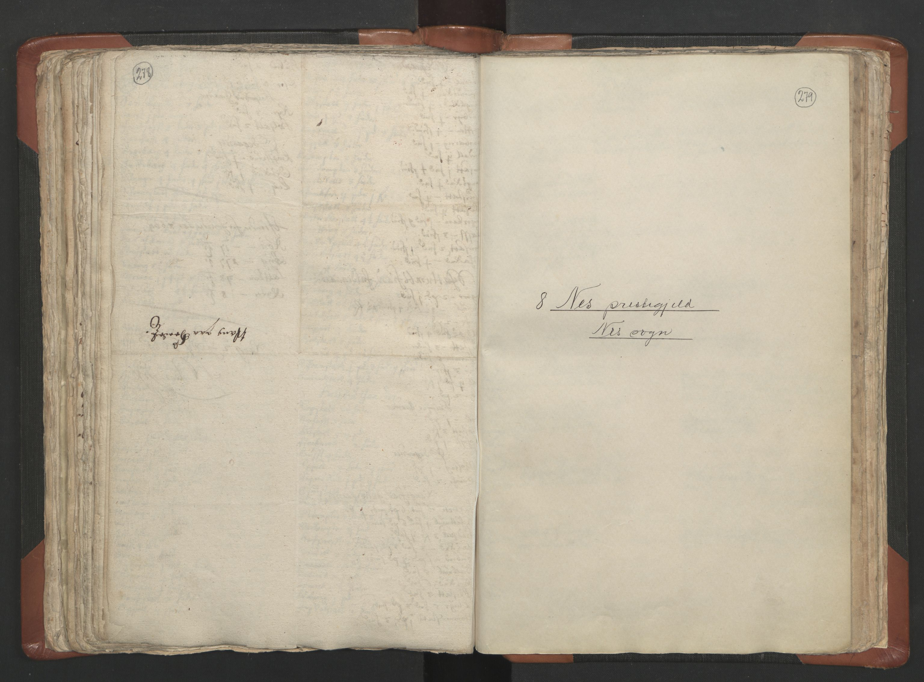 RA, Sogneprestenes manntall 1664-1666, nr. 5: Hedmark prosti, 1664-1666, s. 278-279