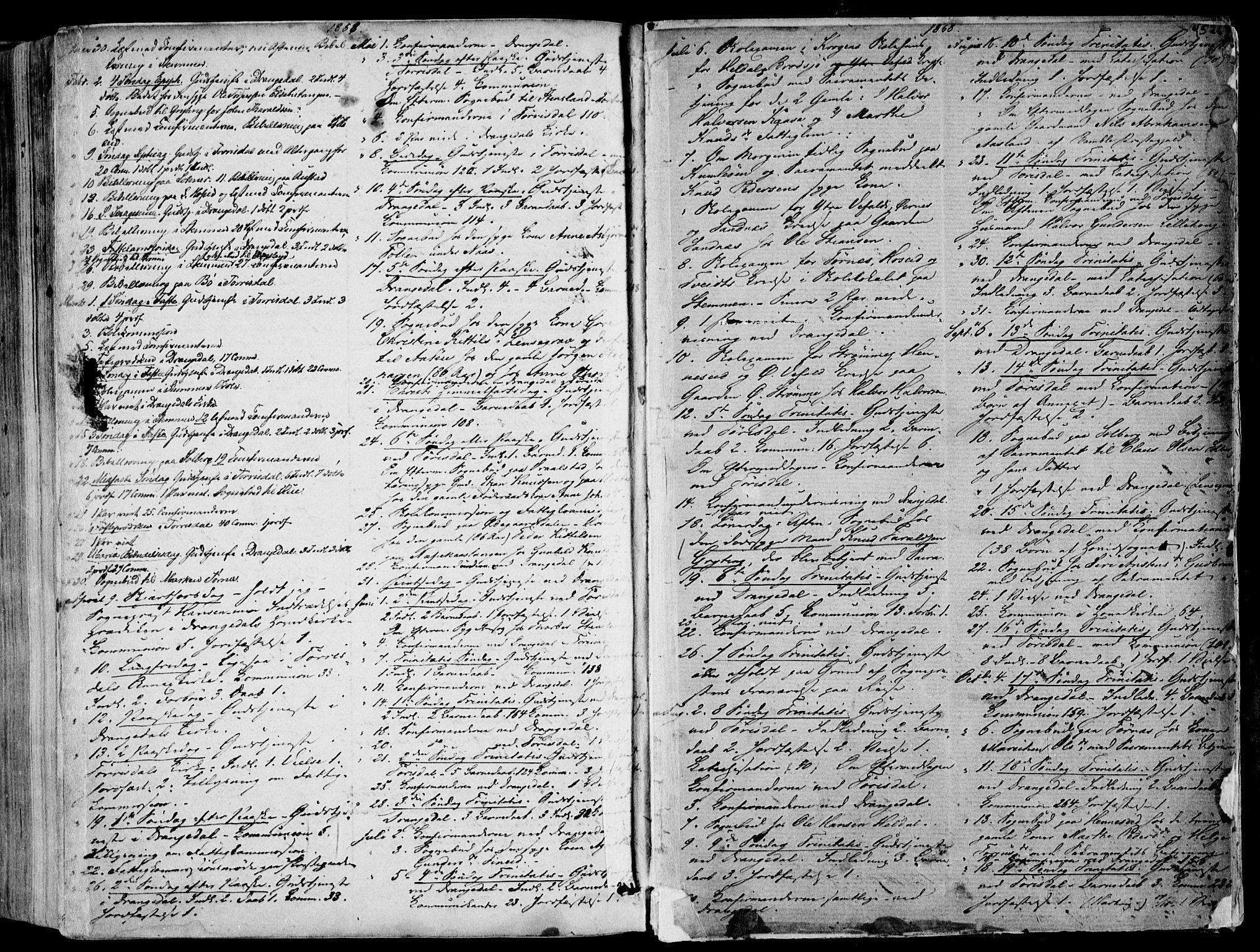 SAKO, Drangedal kirkebøker, F/Fa/L0008: Ministerialbok nr. 8, 1857-1871, s. 526