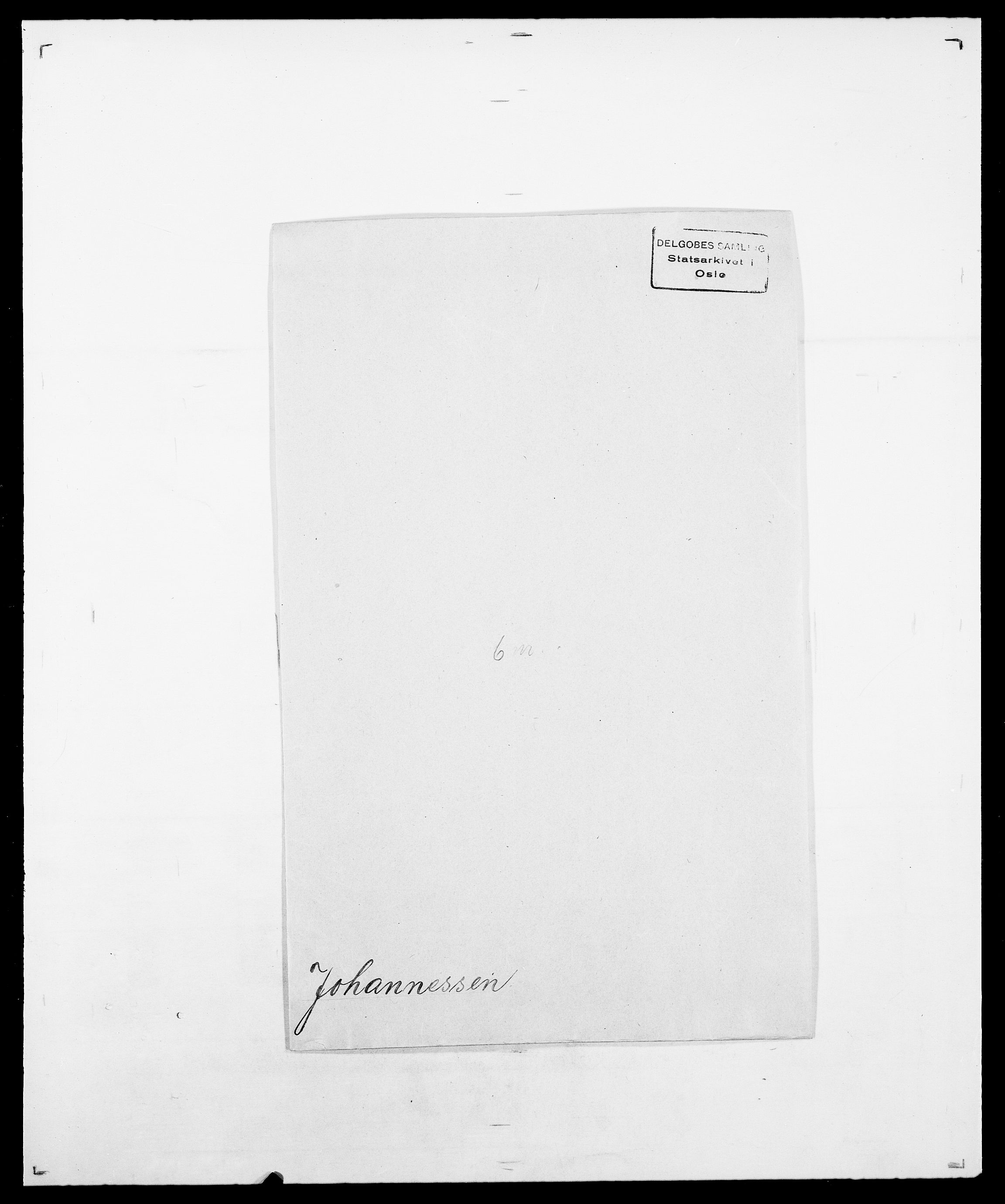 SAO, Delgobe, Charles Antoine - samling, D/Da/L0019: van der Hude - Joys, s. 810