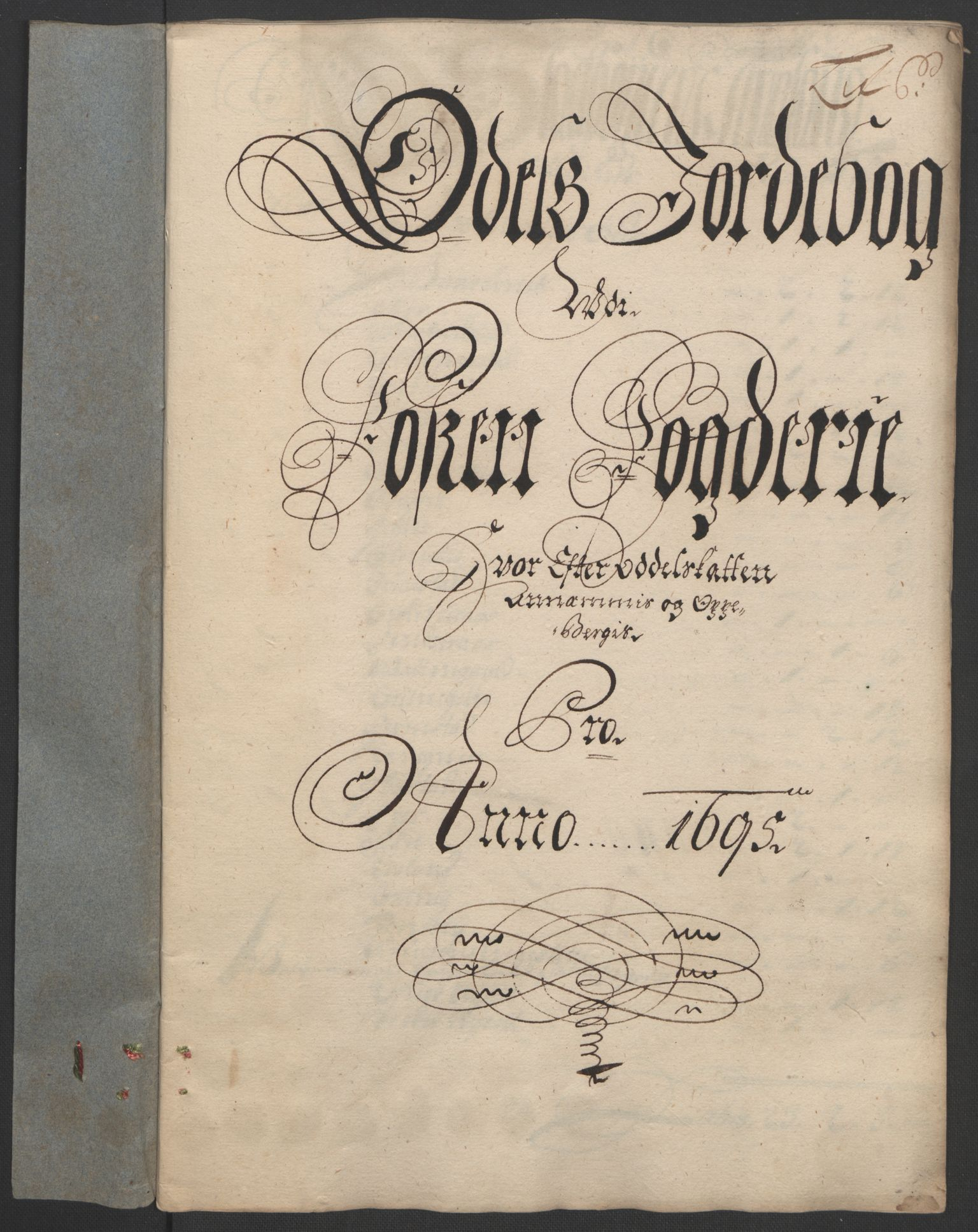 RA, Rentekammeret inntil 1814, Reviderte regnskaper, Fogderegnskap, R57/L3851: Fogderegnskap Fosen, 1695-1696, s. 85