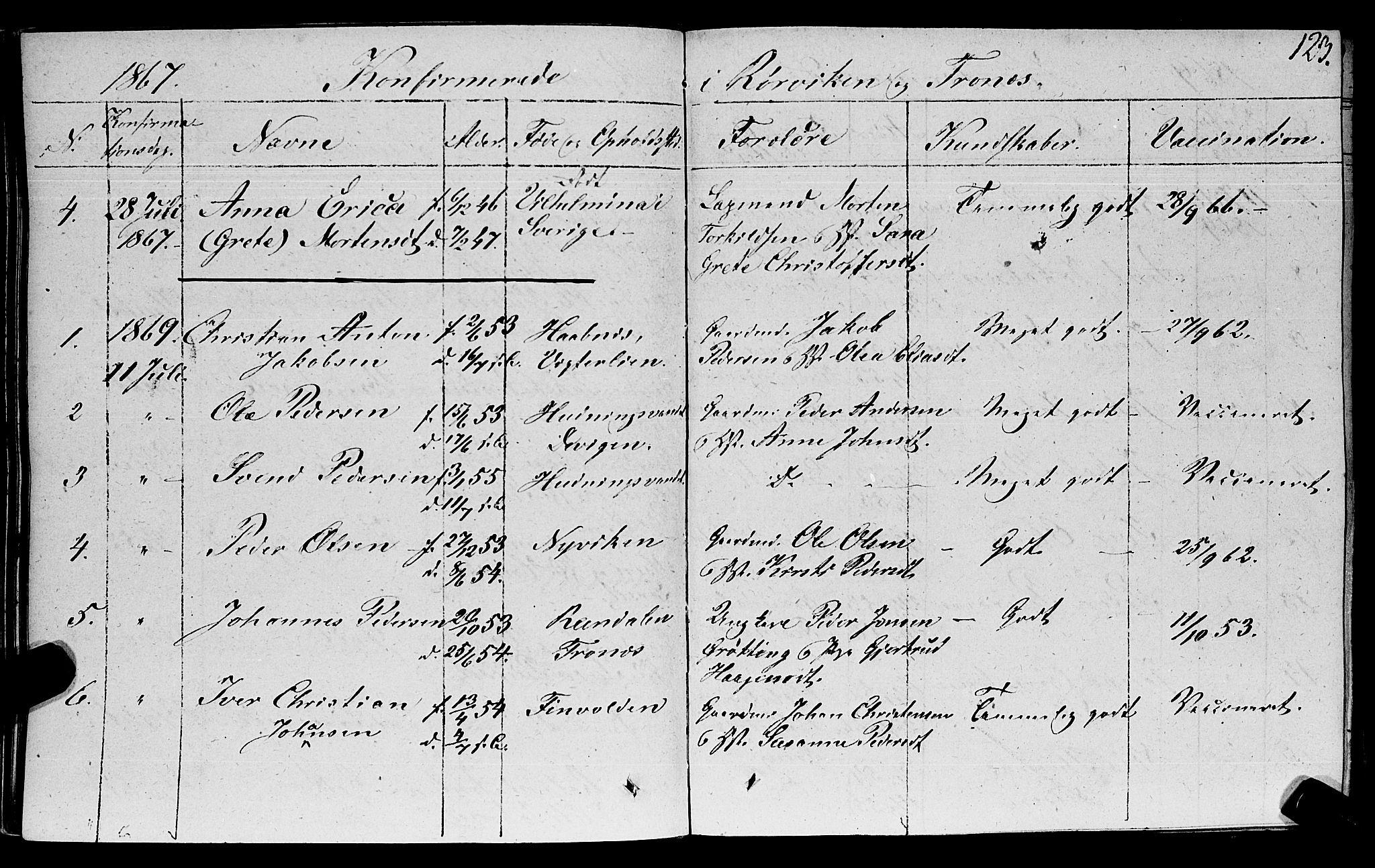 SAT, Ministerialprotokoller, klokkerbøker og fødselsregistre - Nord-Trøndelag, 762/L0538: Ministerialbok nr. 762A02 /1, 1833-1879, s. 123