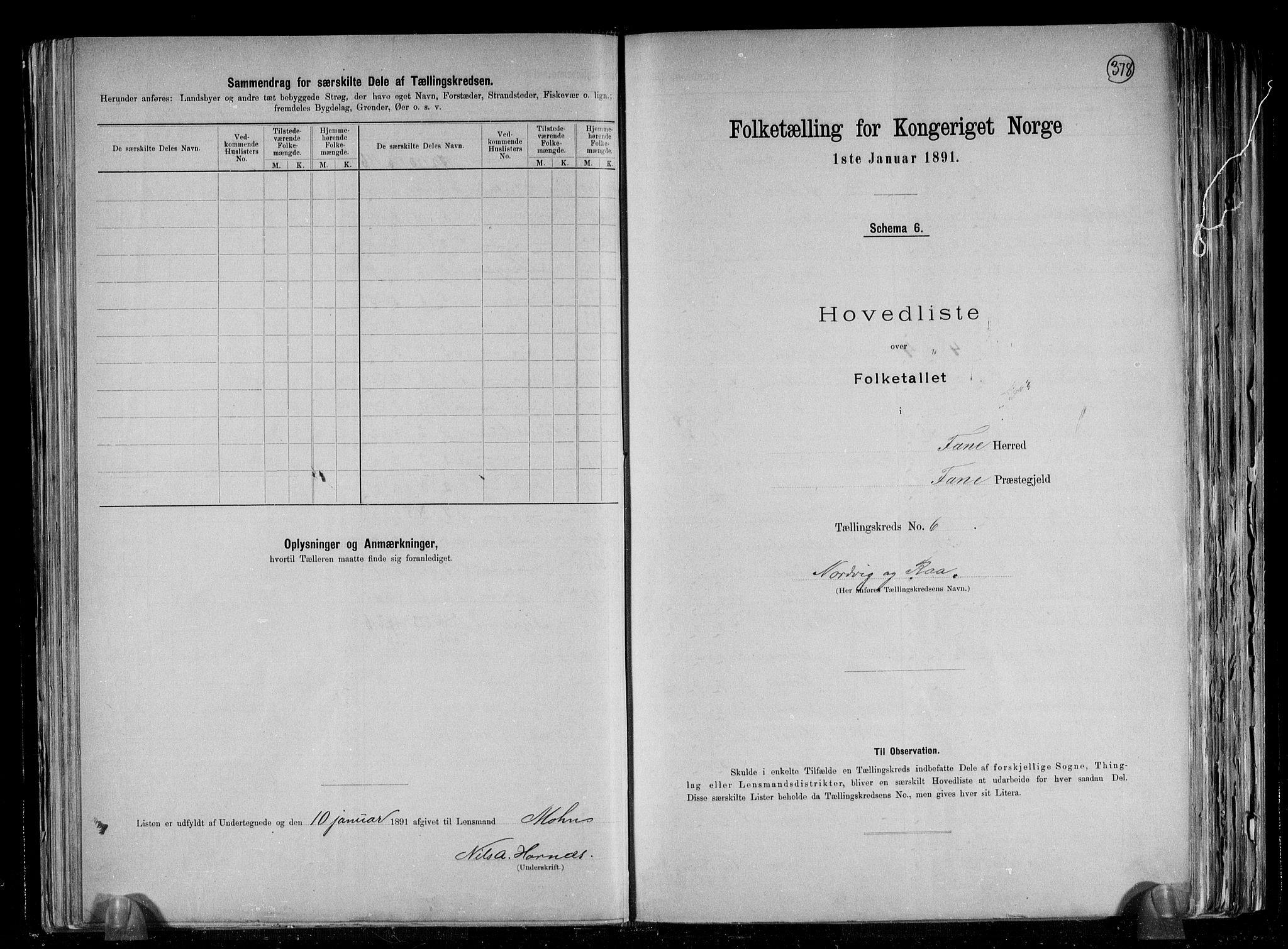 RA, Folketelling 1891 for 1249 Fana herred, 1891, s. 14