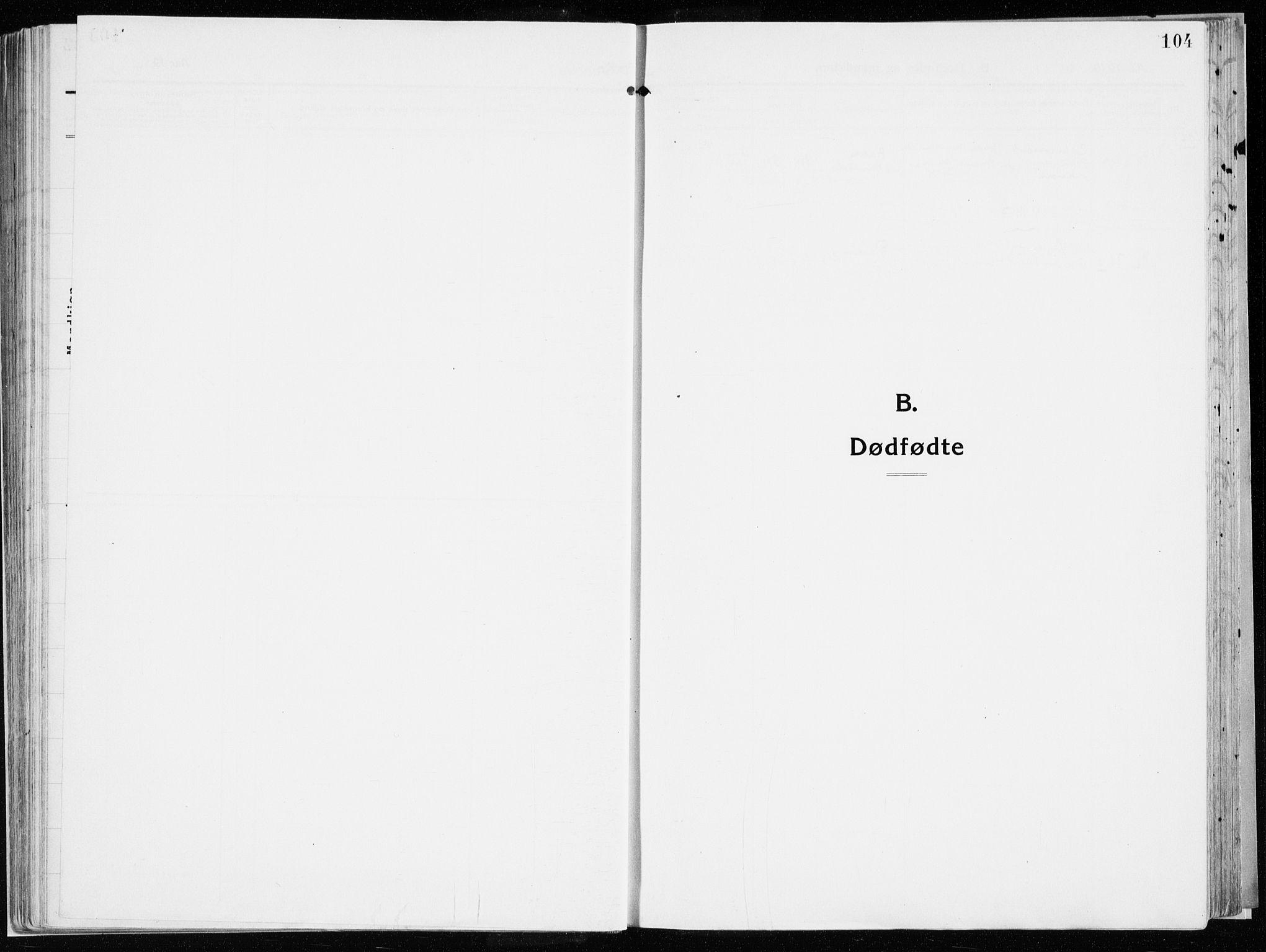 SAH, Vardal prestekontor, H/Ha/Haa/L0017: Ministerialbok nr. 17, 1915-1929, s. 104