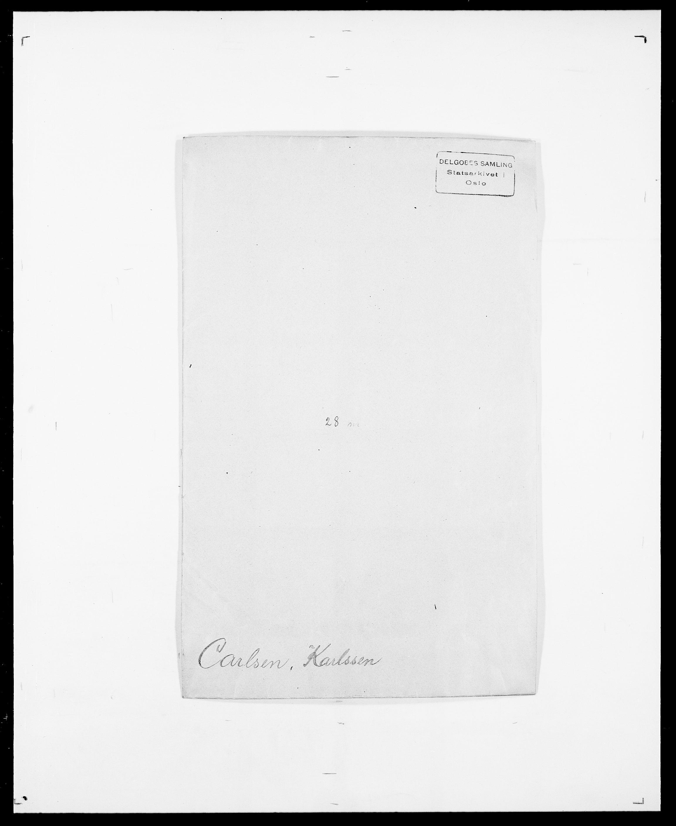 SAO, Delgobe, Charles Antoine - samling, D/Da/L0008: Capjon - Dagenbolt, s. 49