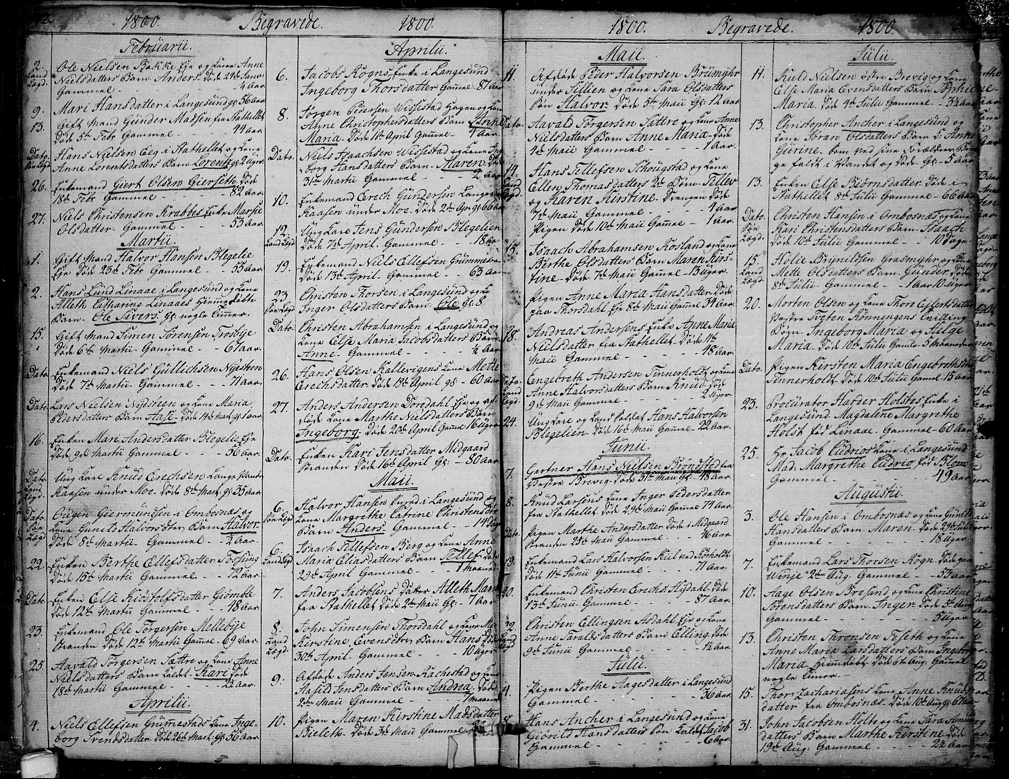 SAKO, Bamble kirkebøker, F/Fa/L0002: Ministerialbok nr. I 2, 1775-1814, s. 542-543