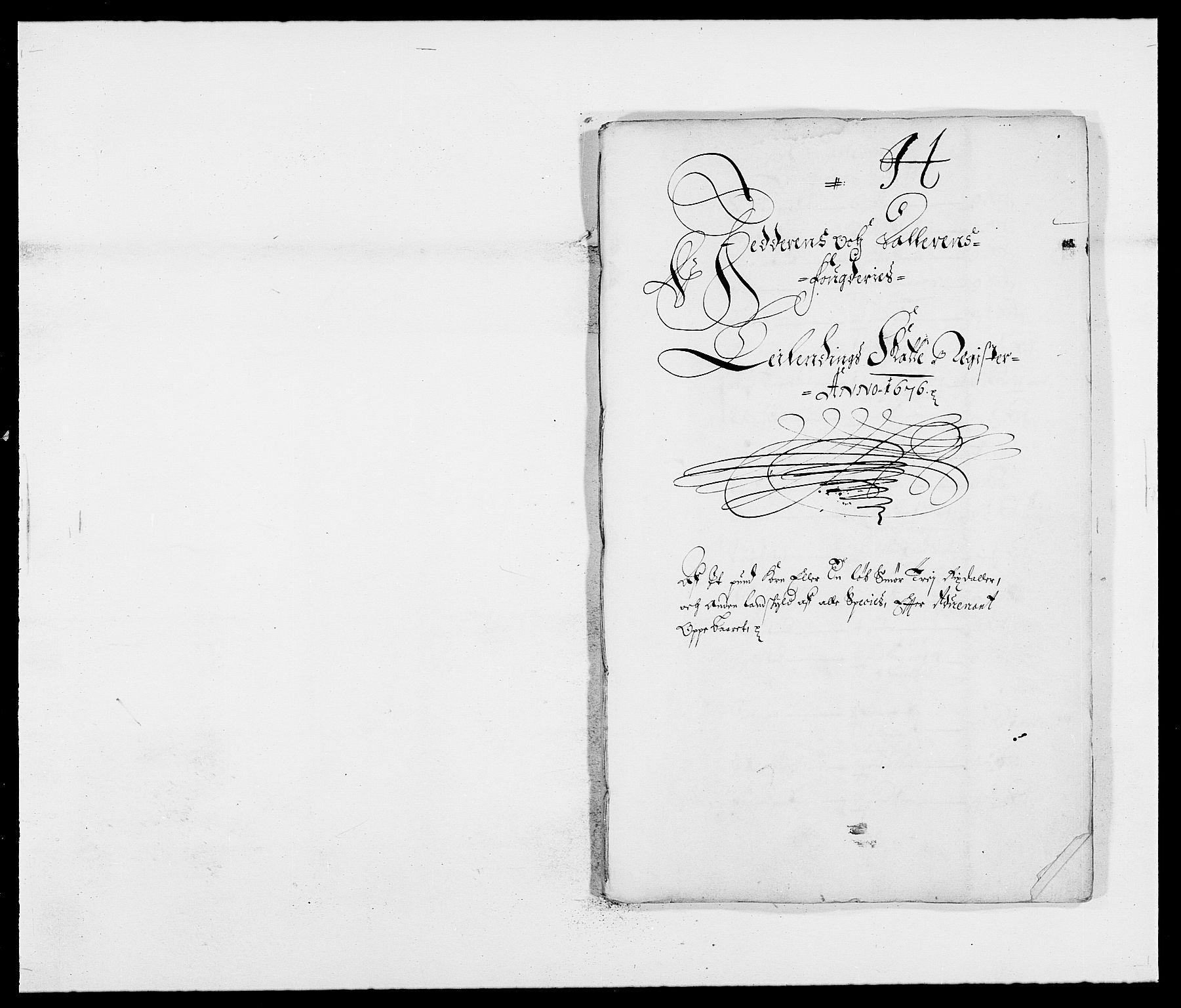 RA, Rentekammeret inntil 1814, Reviderte regnskaper, Fogderegnskap, R46/L2716: Fogderegnskap Jæren og Dalane, 1676, s. 257