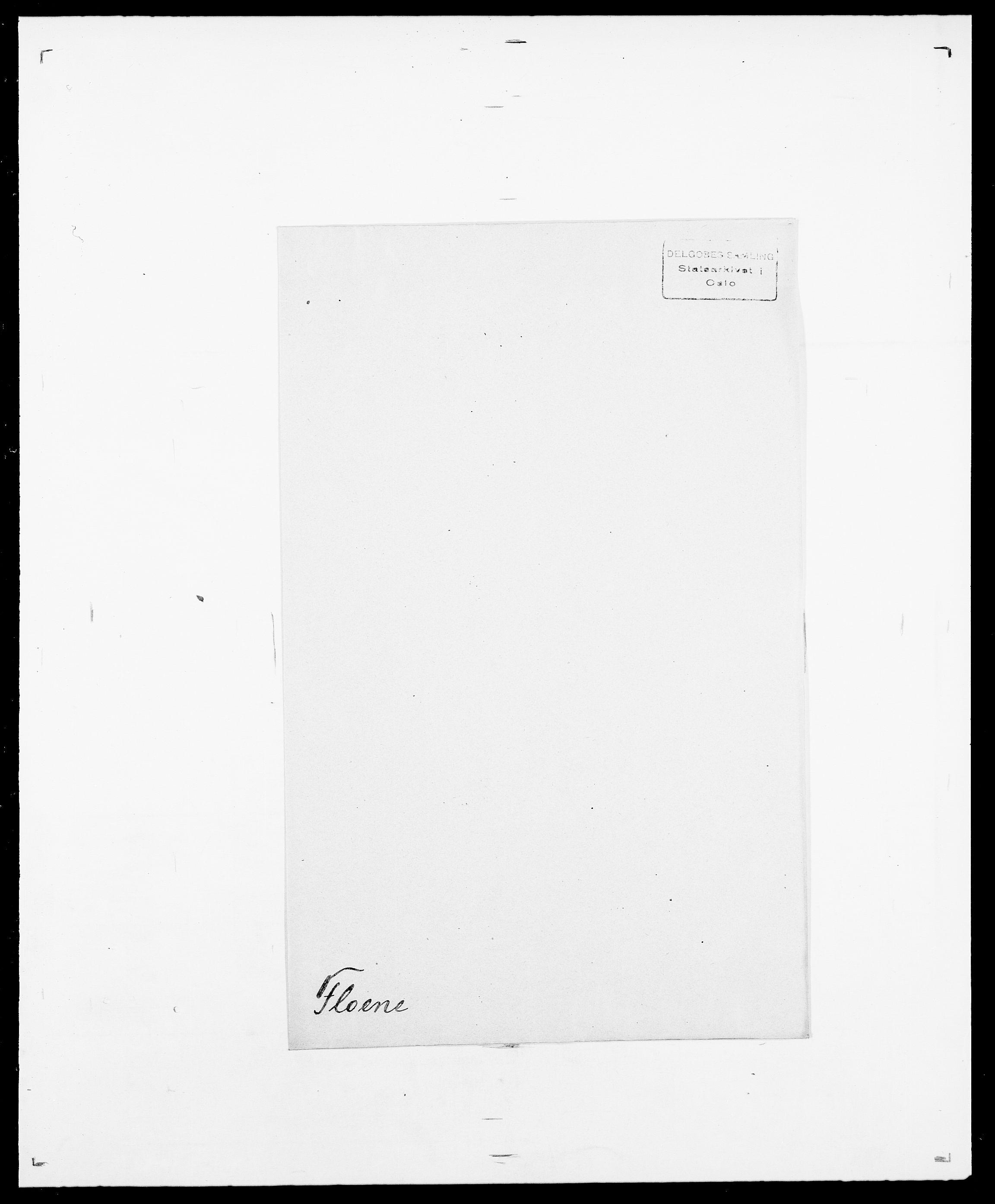 SAO, Delgobe, Charles Antoine - samling, D/Da/L0011: Fahlander - Flood, Flod, s. 685
