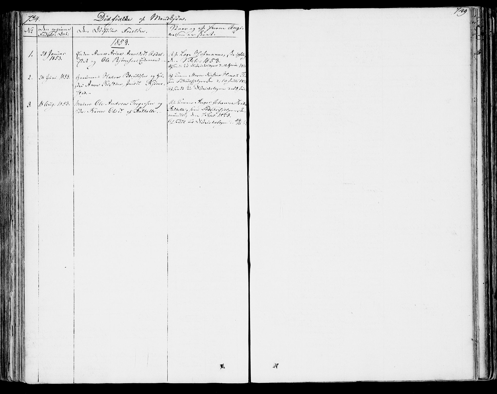 SAKO, Bamble kirkebøker, F/Fa/L0004: Ministerialbok nr. I 4, 1834-1853, s. 734-735