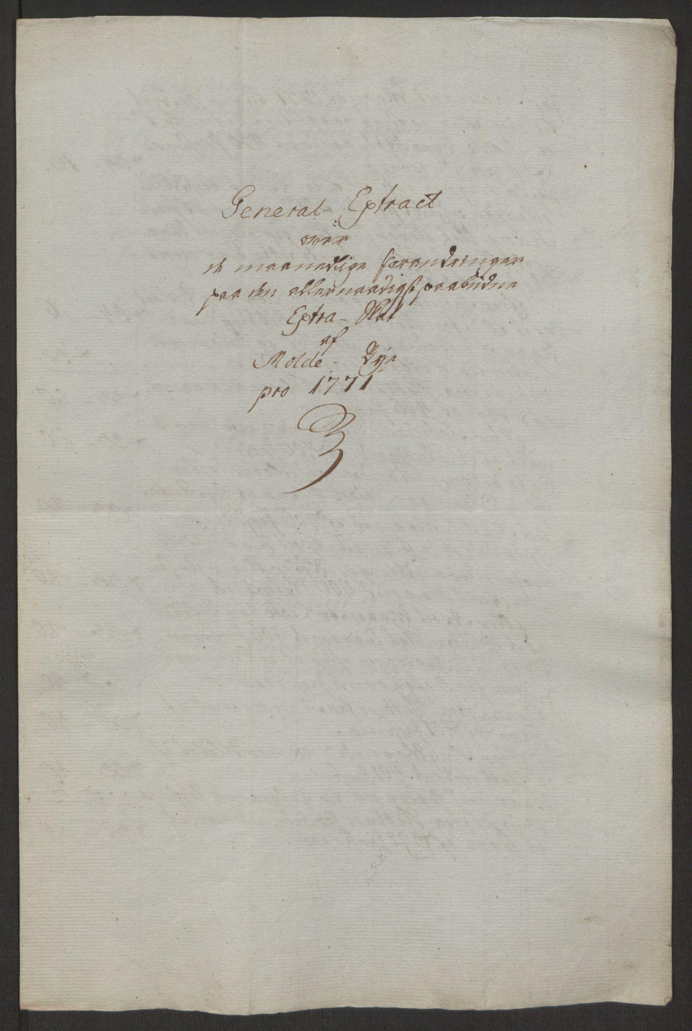 RA, Rentekammeret inntil 1814, Reviderte regnskaper, Byregnskaper, R/Rq/L0487: [Q1] Kontribusjonsregnskap, 1762-1772, s. 204