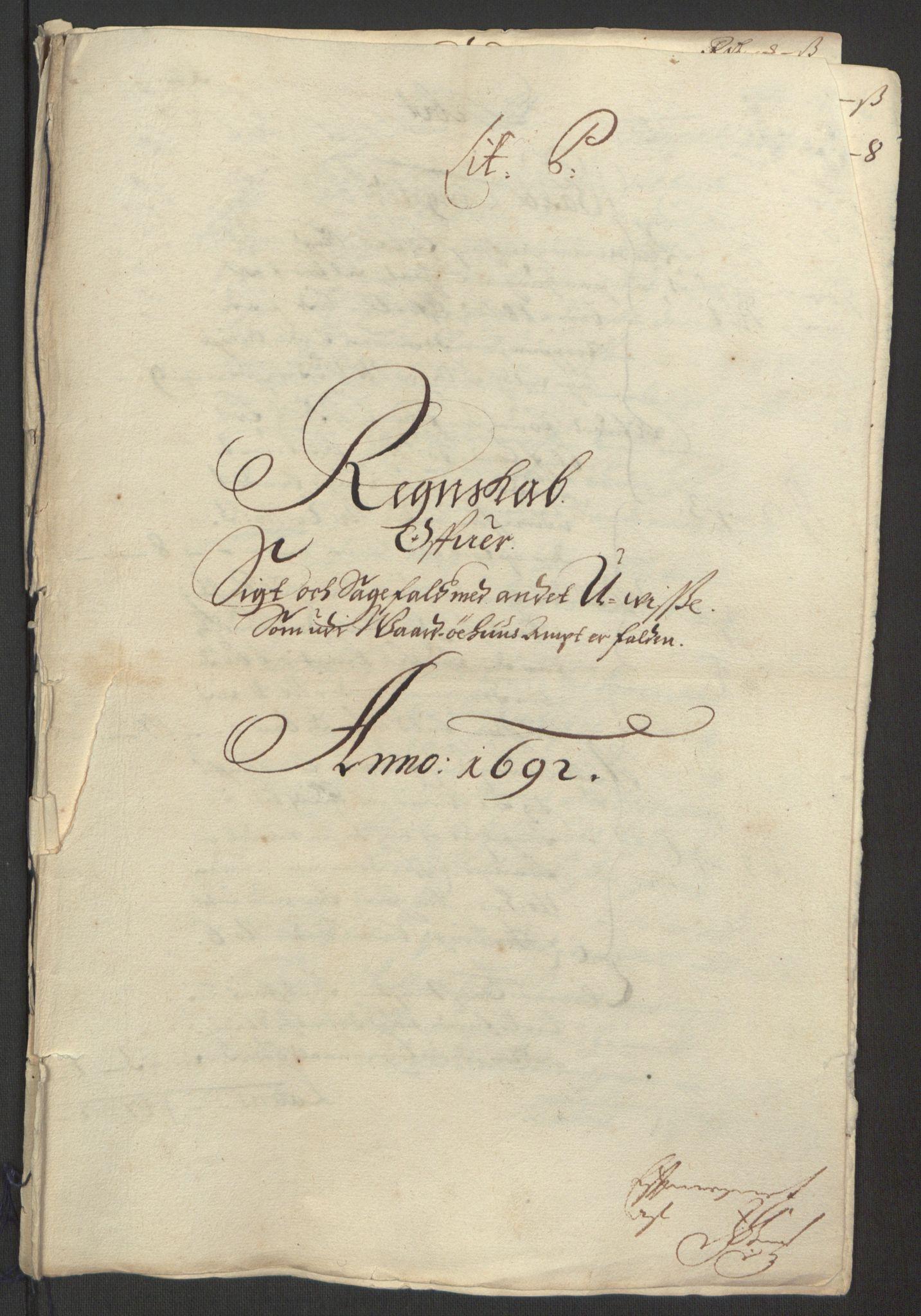 RA, Rentekammeret inntil 1814, Reviderte regnskaper, Fogderegnskap, R69/L4851: Fogderegnskap Finnmark/Vardøhus, 1691-1700, s. 175