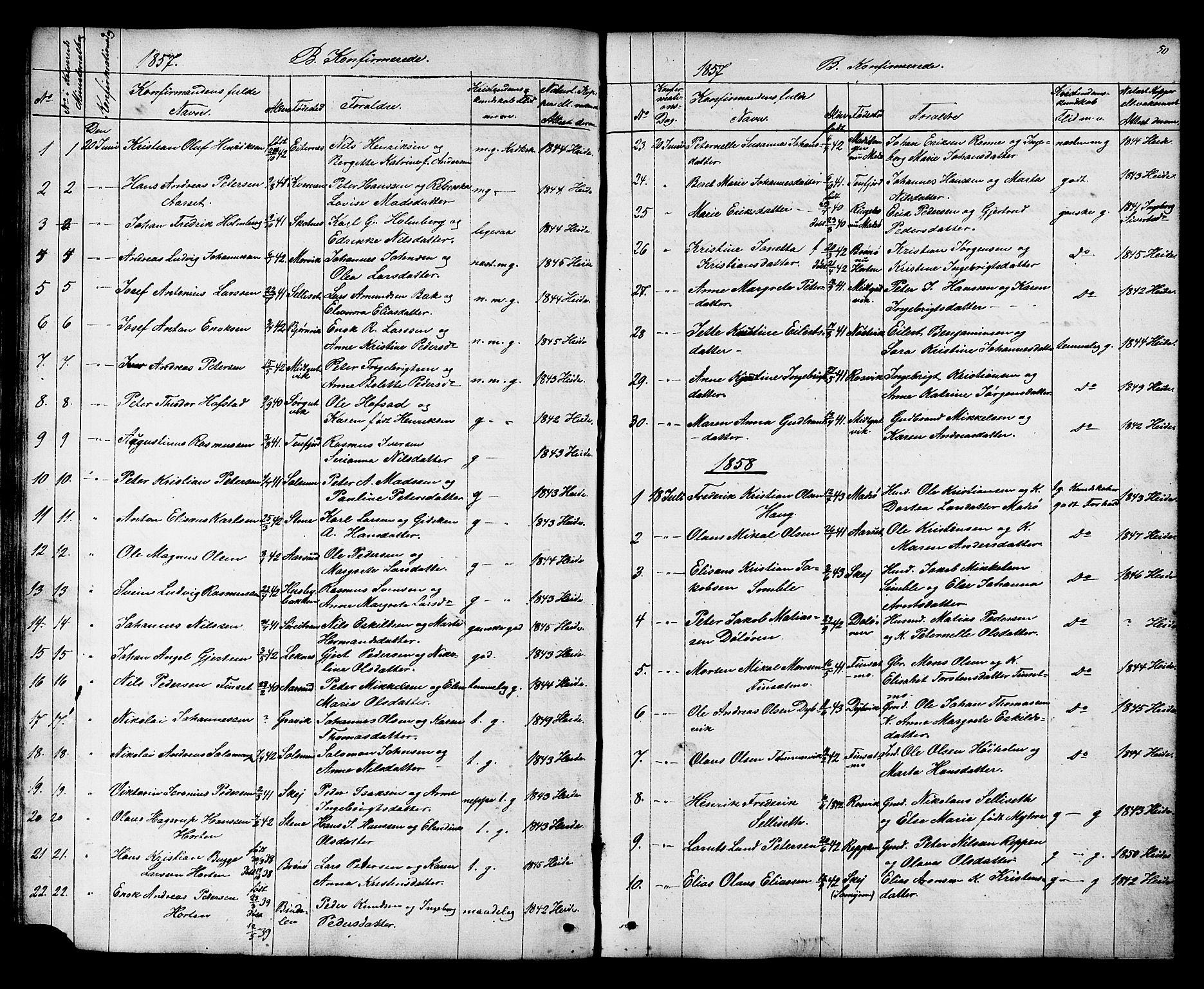 SAT, Ministerialprotokoller, klokkerbøker og fødselsregistre - Nord-Trøndelag, 788/L0695: Ministerialbok nr. 788A02, 1843-1862, s. 50