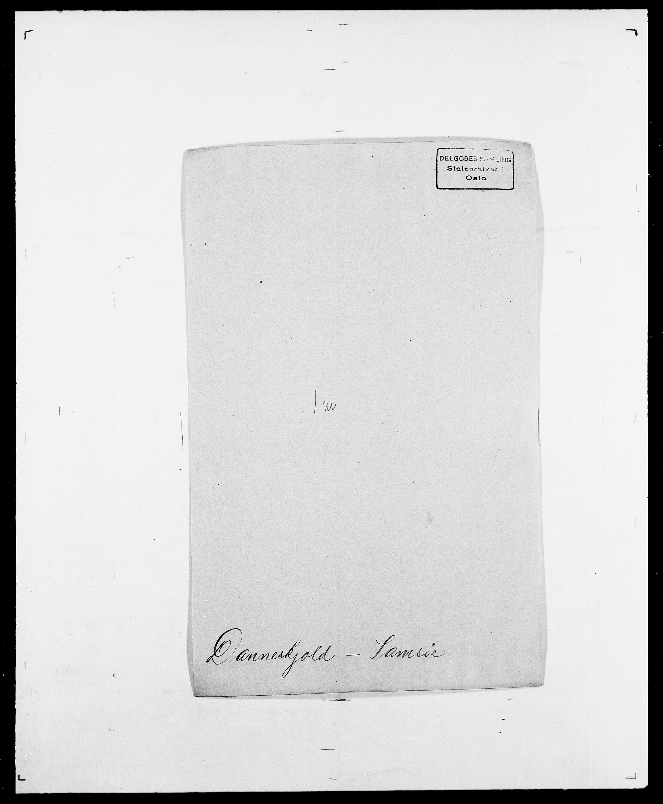 SAO, Delgobe, Charles Antoine - samling, D/Da/L0009: Dahl - v. Düren, s. 321