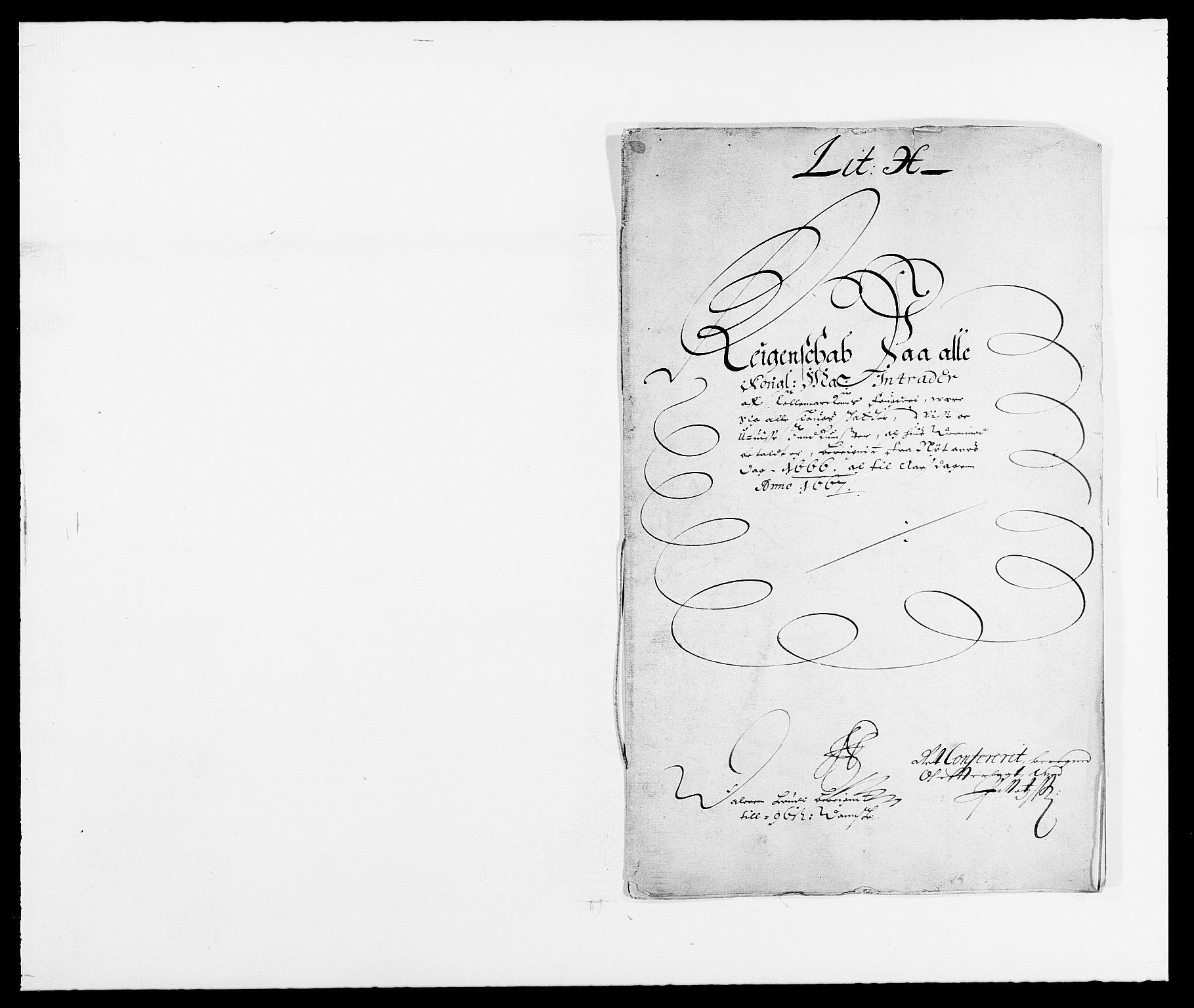 RA, Rentekammeret inntil 1814, Reviderte regnskaper, Fogderegnskap, R35/L2057: Fogderegnskap Øvre og Nedre Telemark, 1666-1667, s. 1