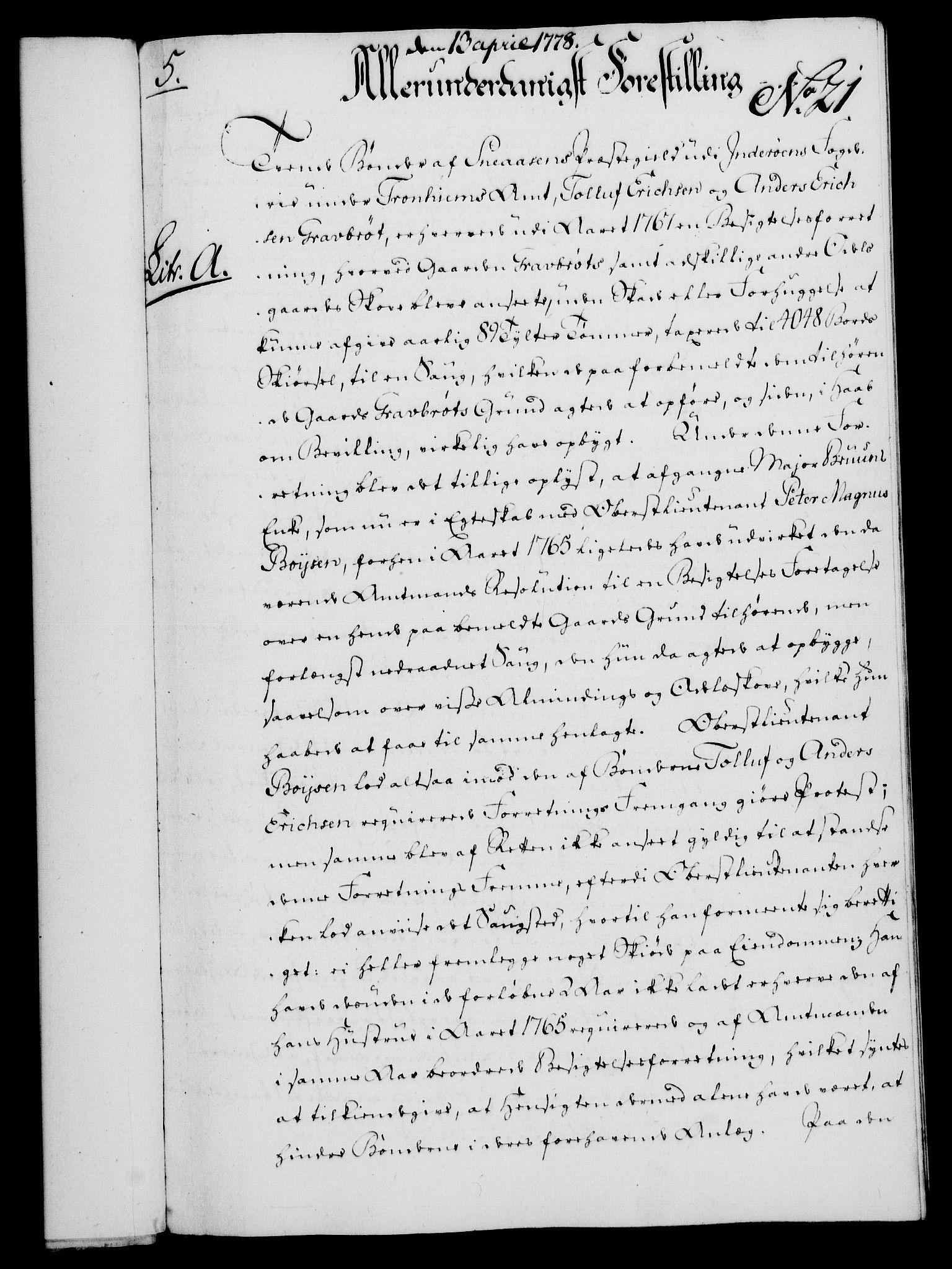 RA, Rentekammeret, Kammerkanselliet, G/Gf/Gfa/L0060: Norsk relasjons- og resolusjonsprotokoll (merket RK 52.60), 1778, s. 179
