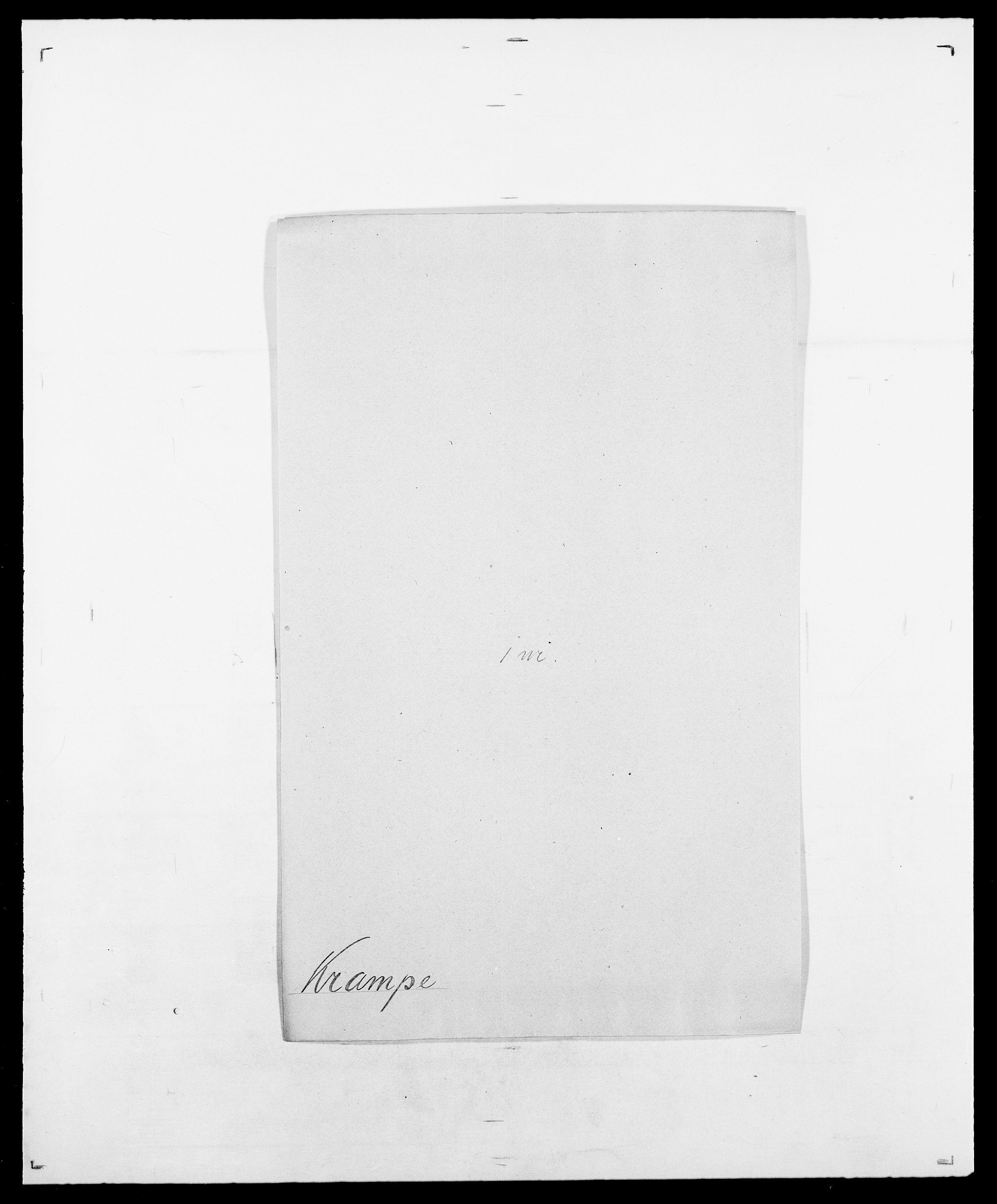 SAO, Delgobe, Charles Antoine - samling, D/Da/L0021: Klagenberg - Kristoft, s. 720