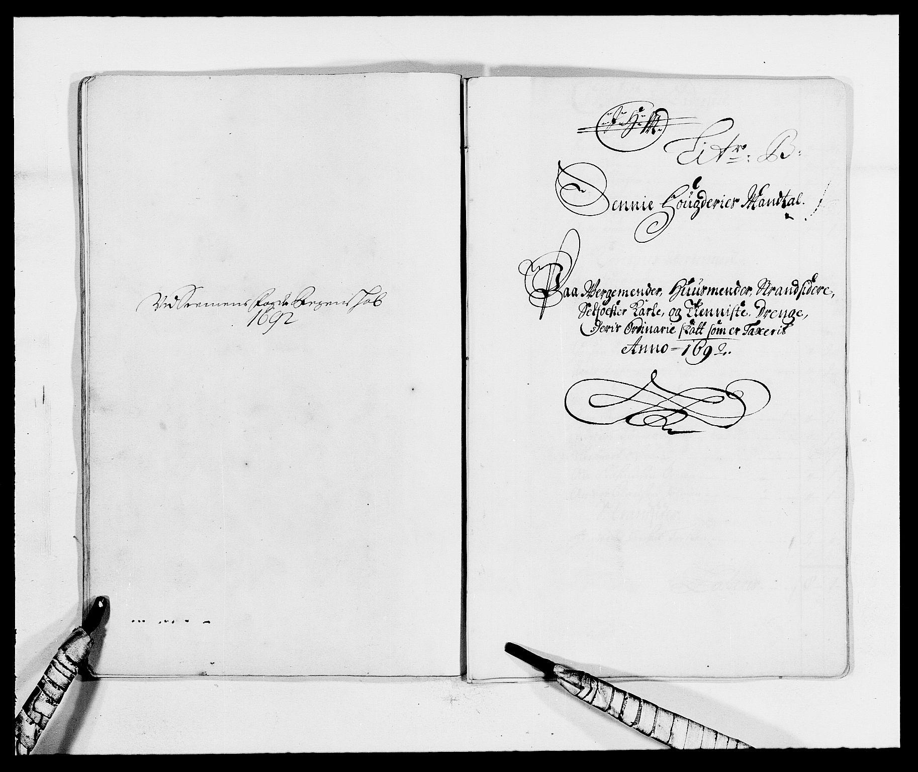 RA, Rentekammeret inntil 1814, Reviderte regnskaper, Fogderegnskap, R68/L4752: Fogderegnskap Senja og Troms, 1691-1693, s. 187