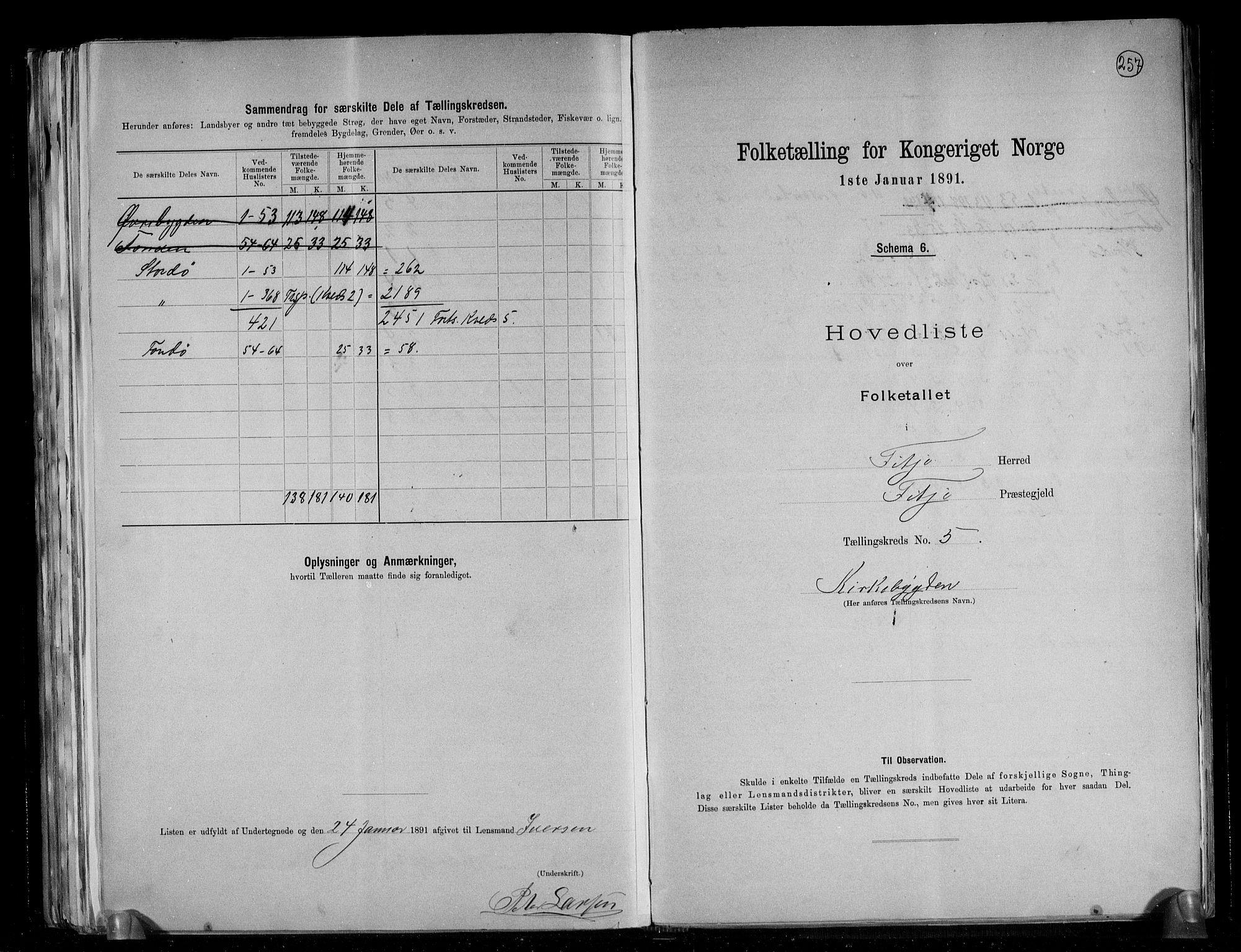 RA, Folketelling 1891 for 1222 Fitjar herred, 1891, s. 12